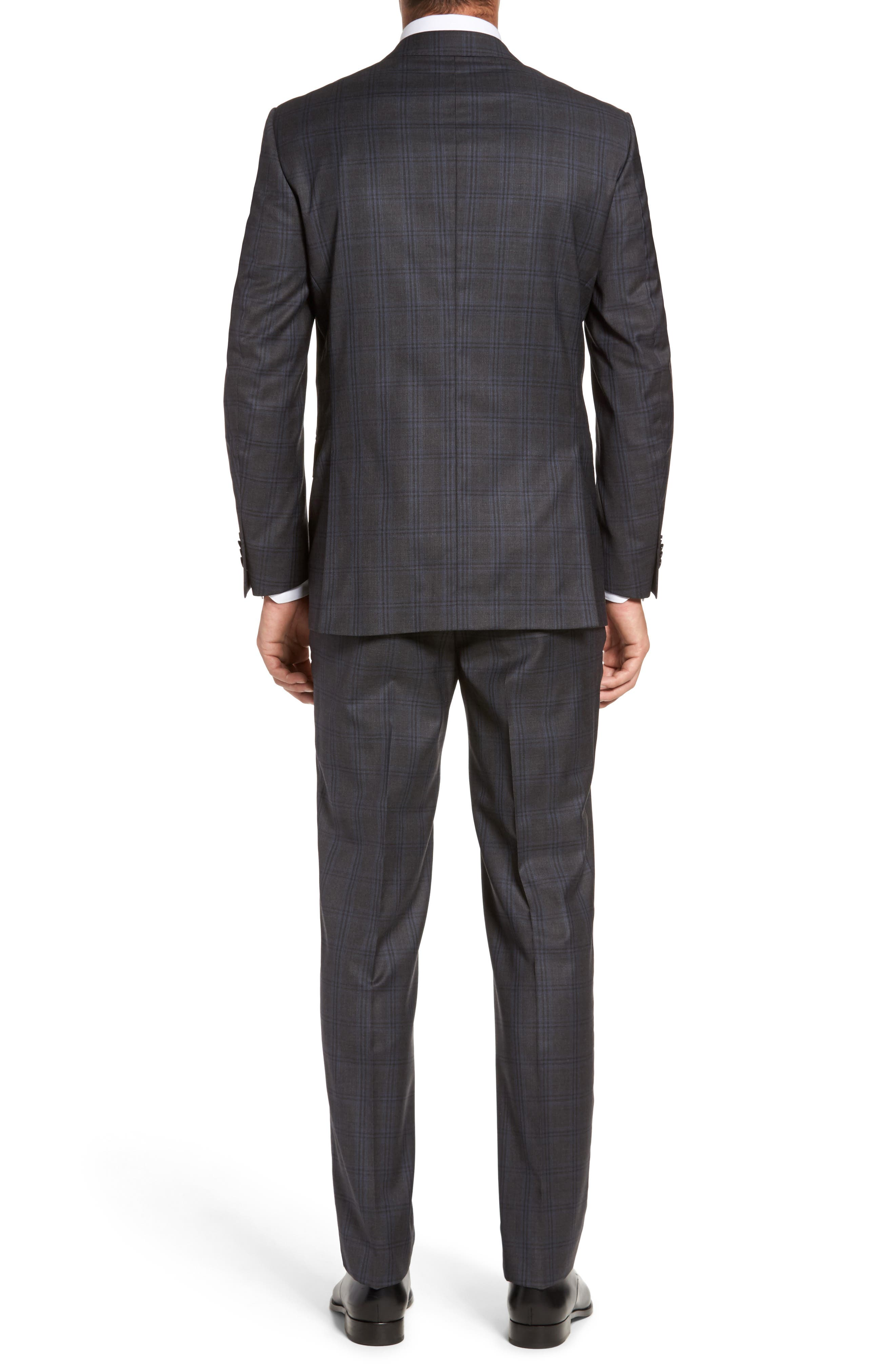 Alternate Image 2  - Peter Millar Flynn Classic Fit Plaid Wool Suit
