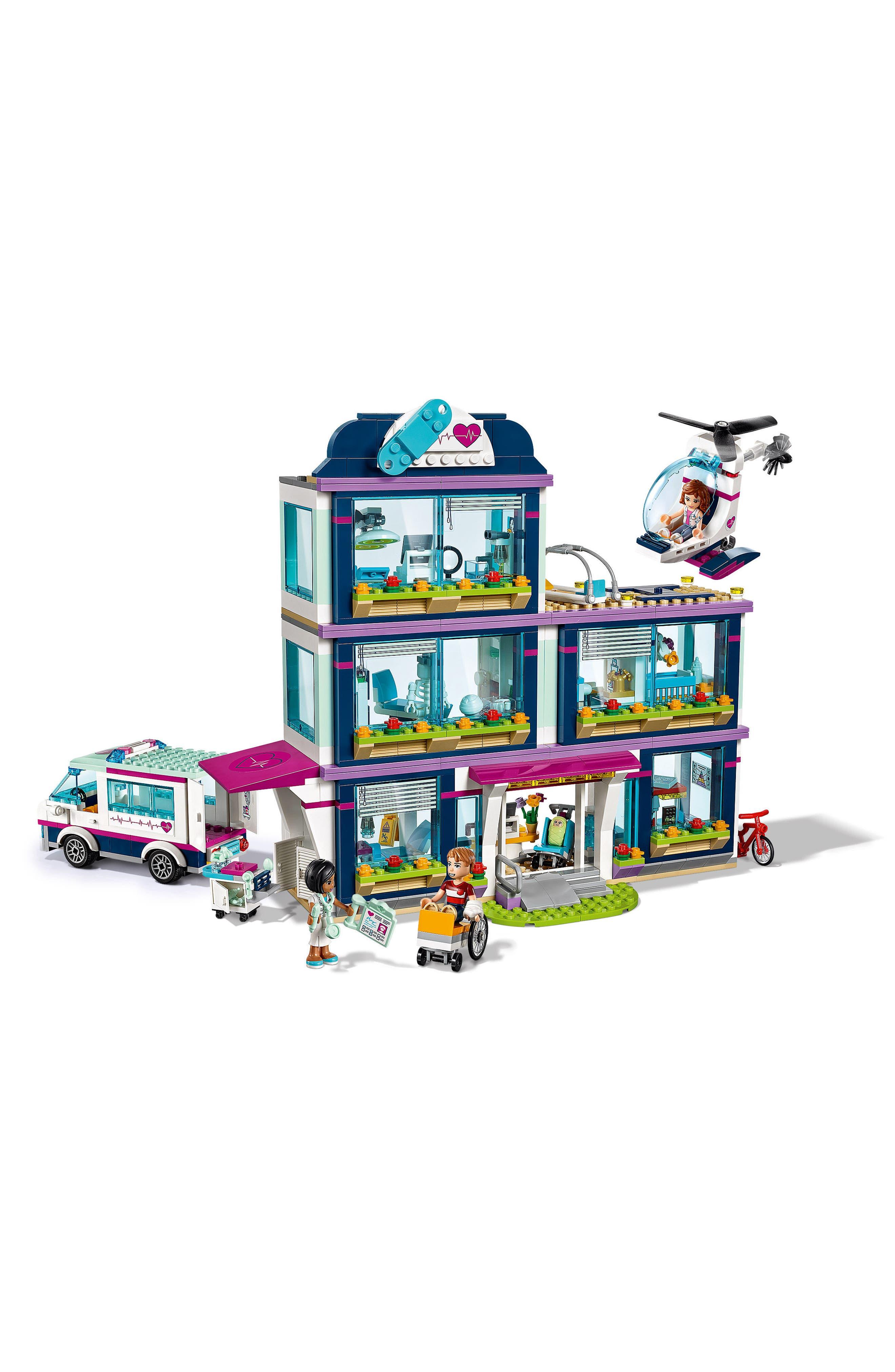 Friends Heartlake Hospital Play Set - 41318,                             Alternate thumbnail 4, color,                             Multi