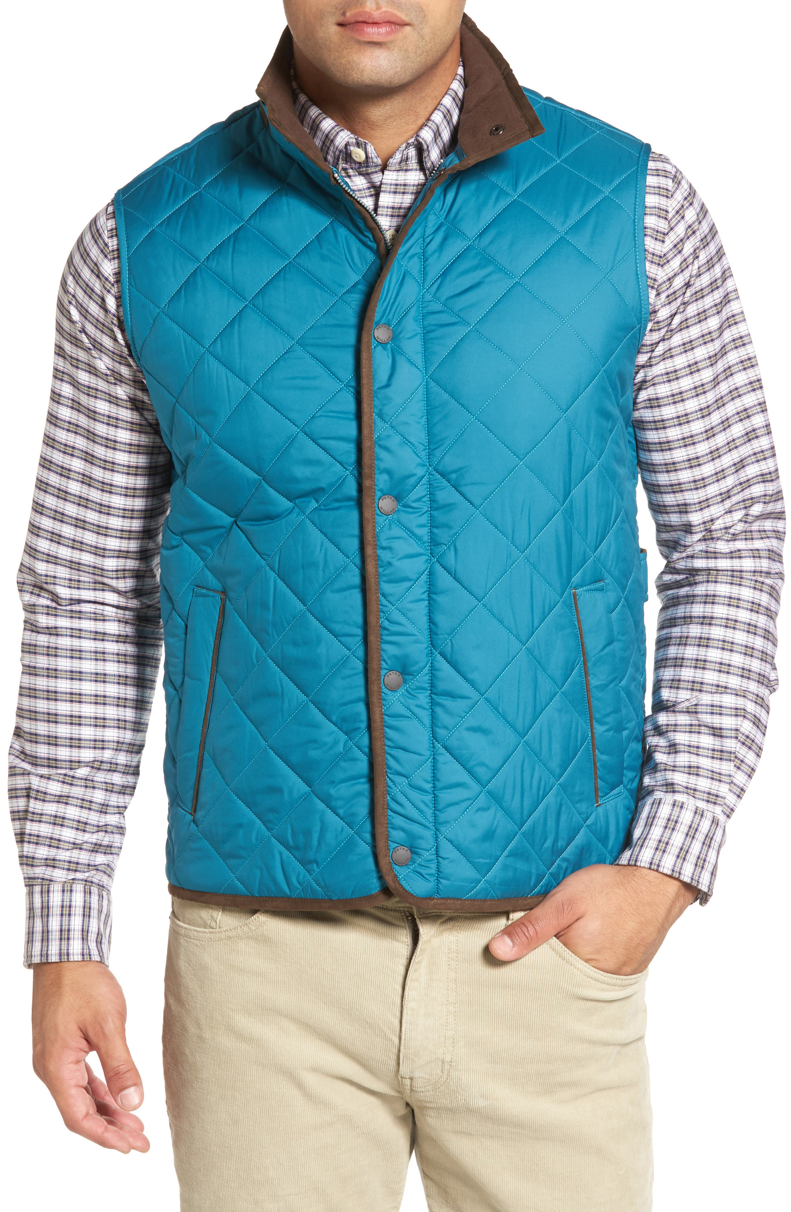 Alternate Image 1 Selected - Peter Millar Essex Quilted Vest