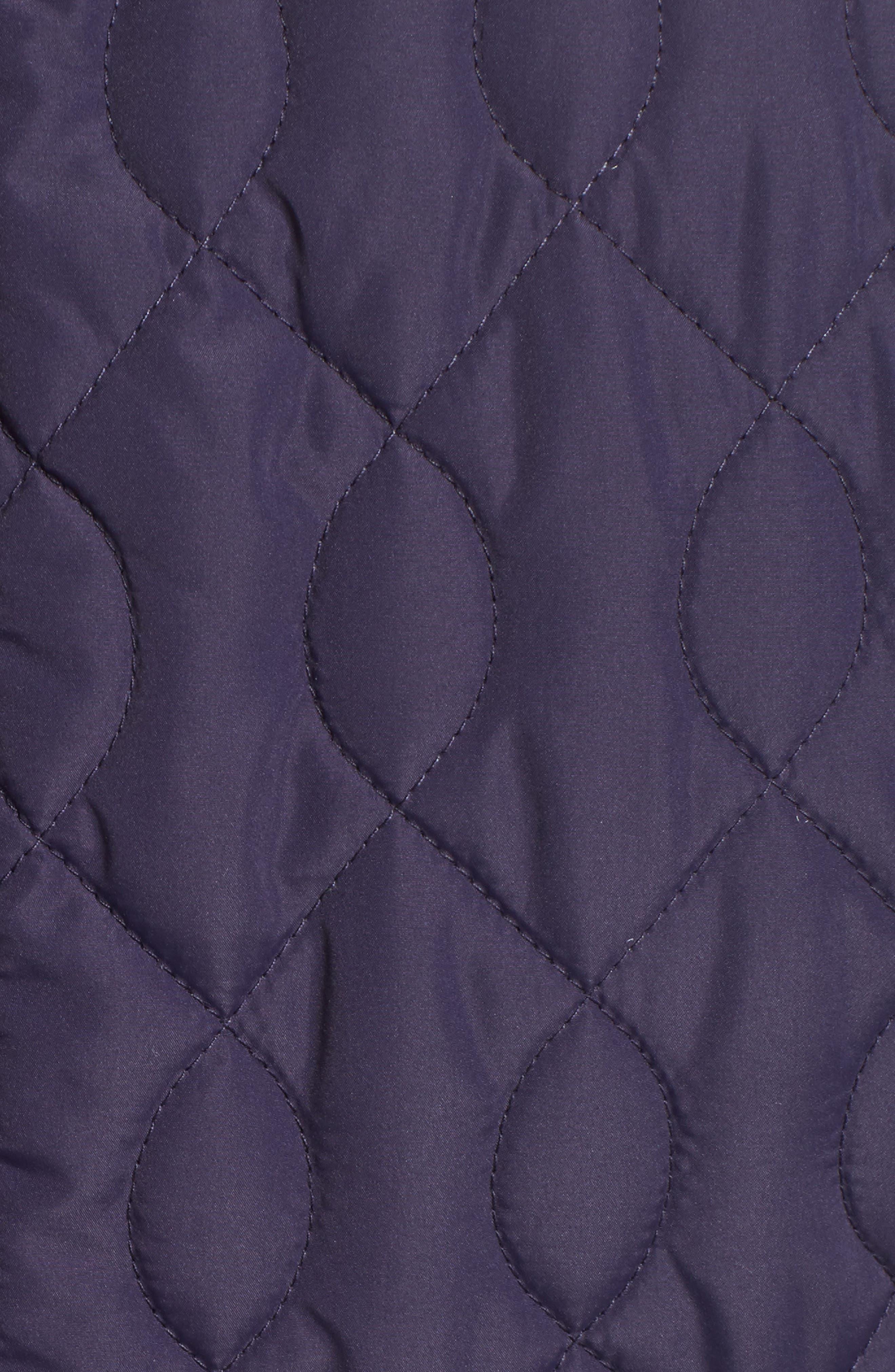 Alternate Image 5  - Caslon® Collarless Quilted Vest (Regular & Petite)