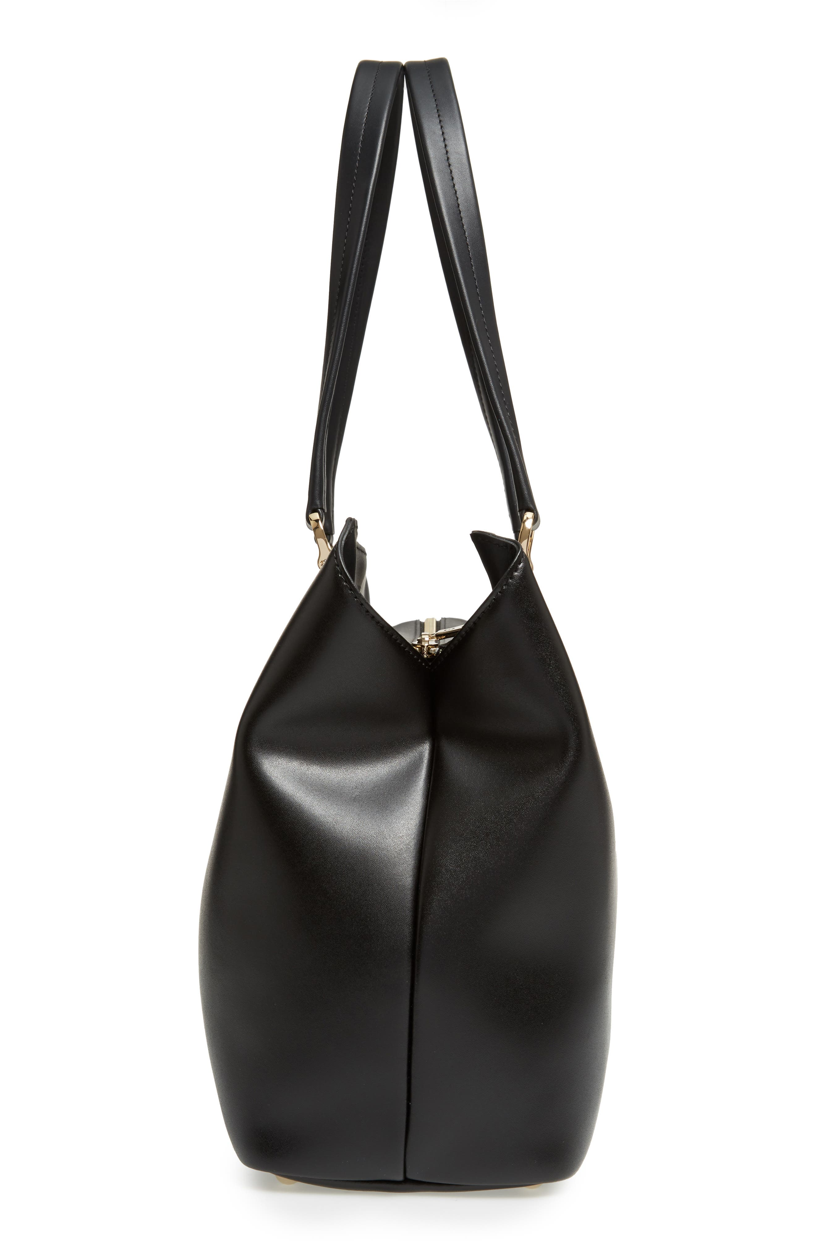 Alternate Image 4  - Longchamp Honoré 404 Leather Tote