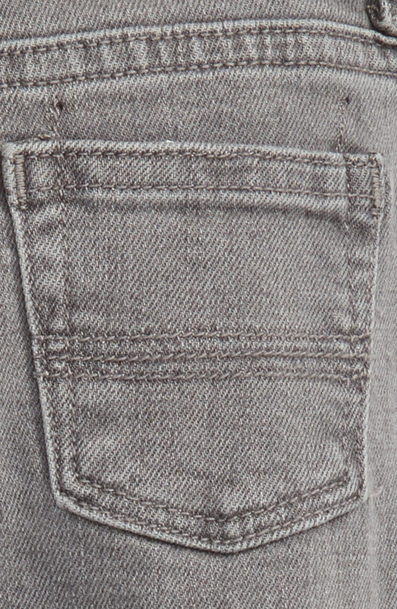 Slouch Jeans,                             Alternate thumbnail 3, color,                             Grey