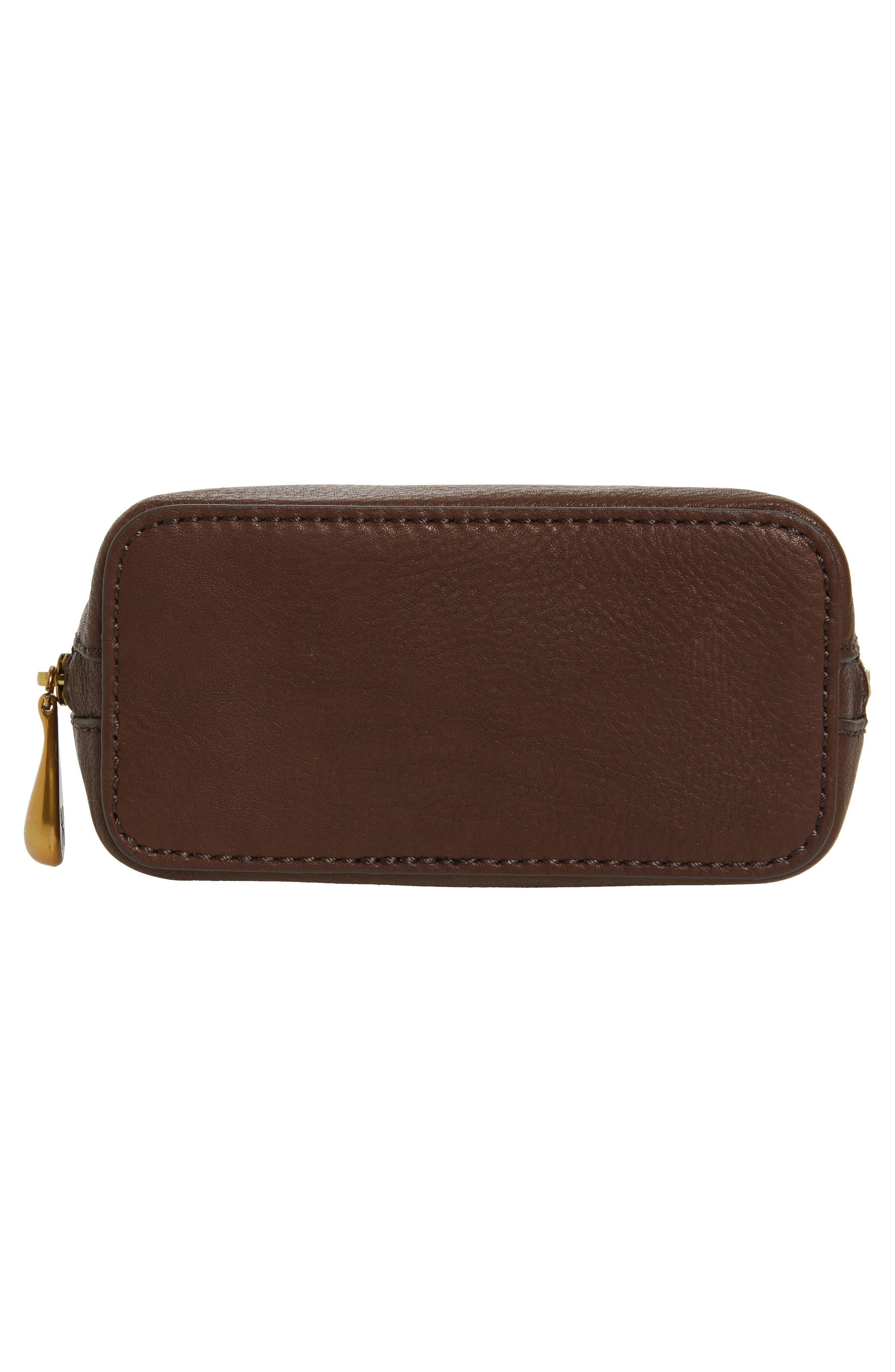 Alternate Image 5  - Hobo Nash Calfskin Leather Crossbody Bag