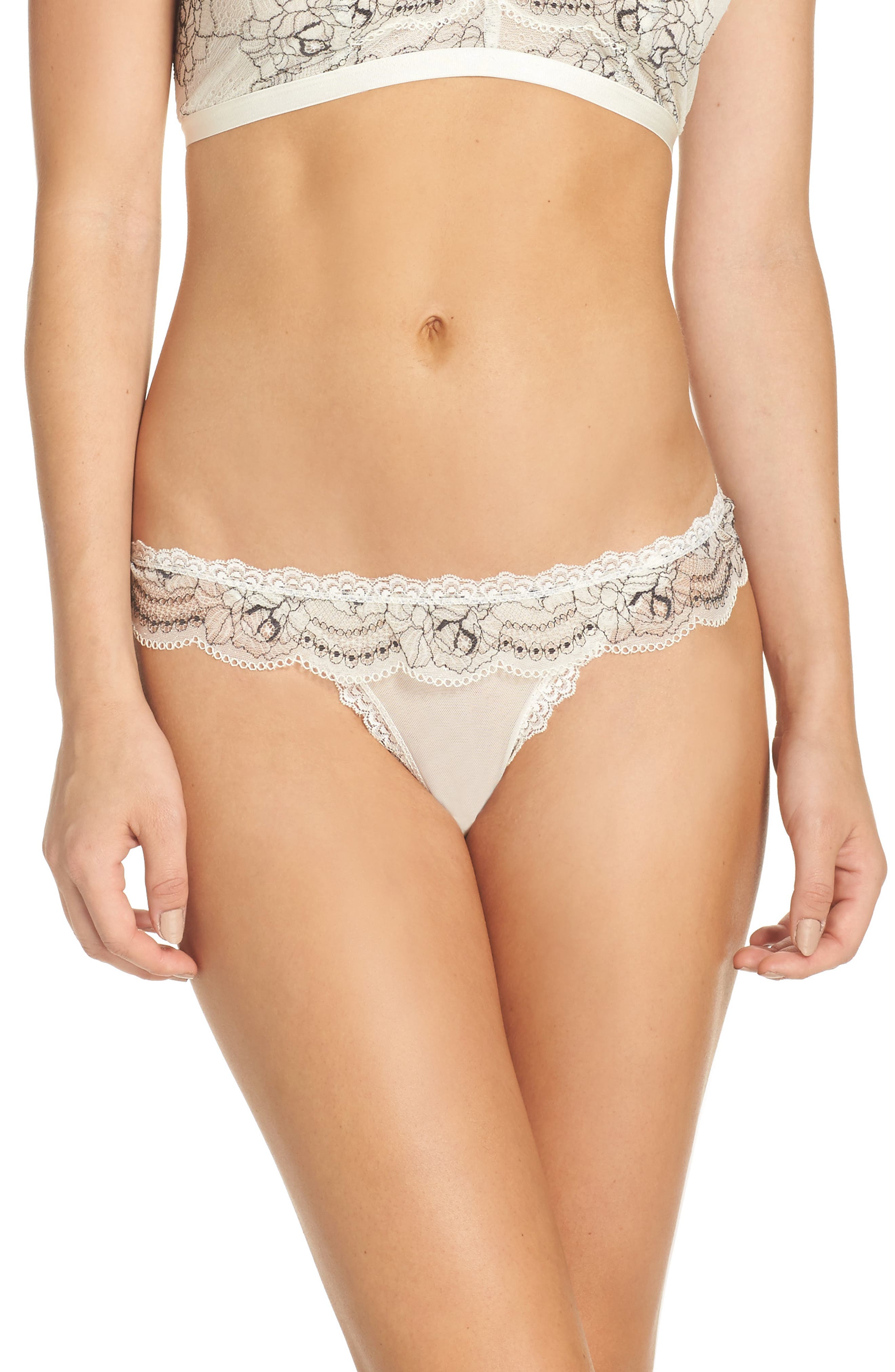 Chelsea28 Wild Roses Thong