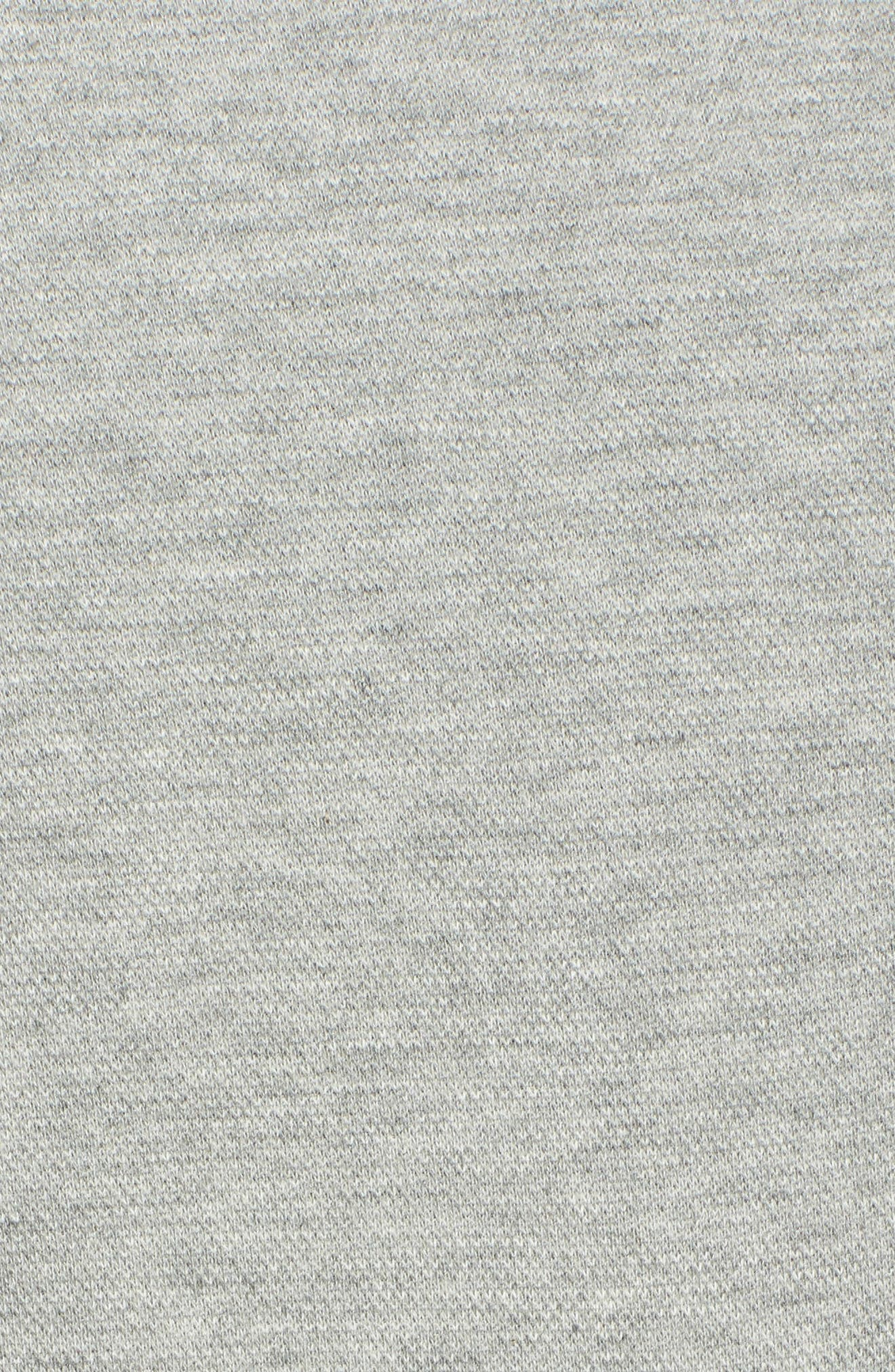Reversible Graphic Hoodie,                             Alternate thumbnail 5, color,                             Heather Grey