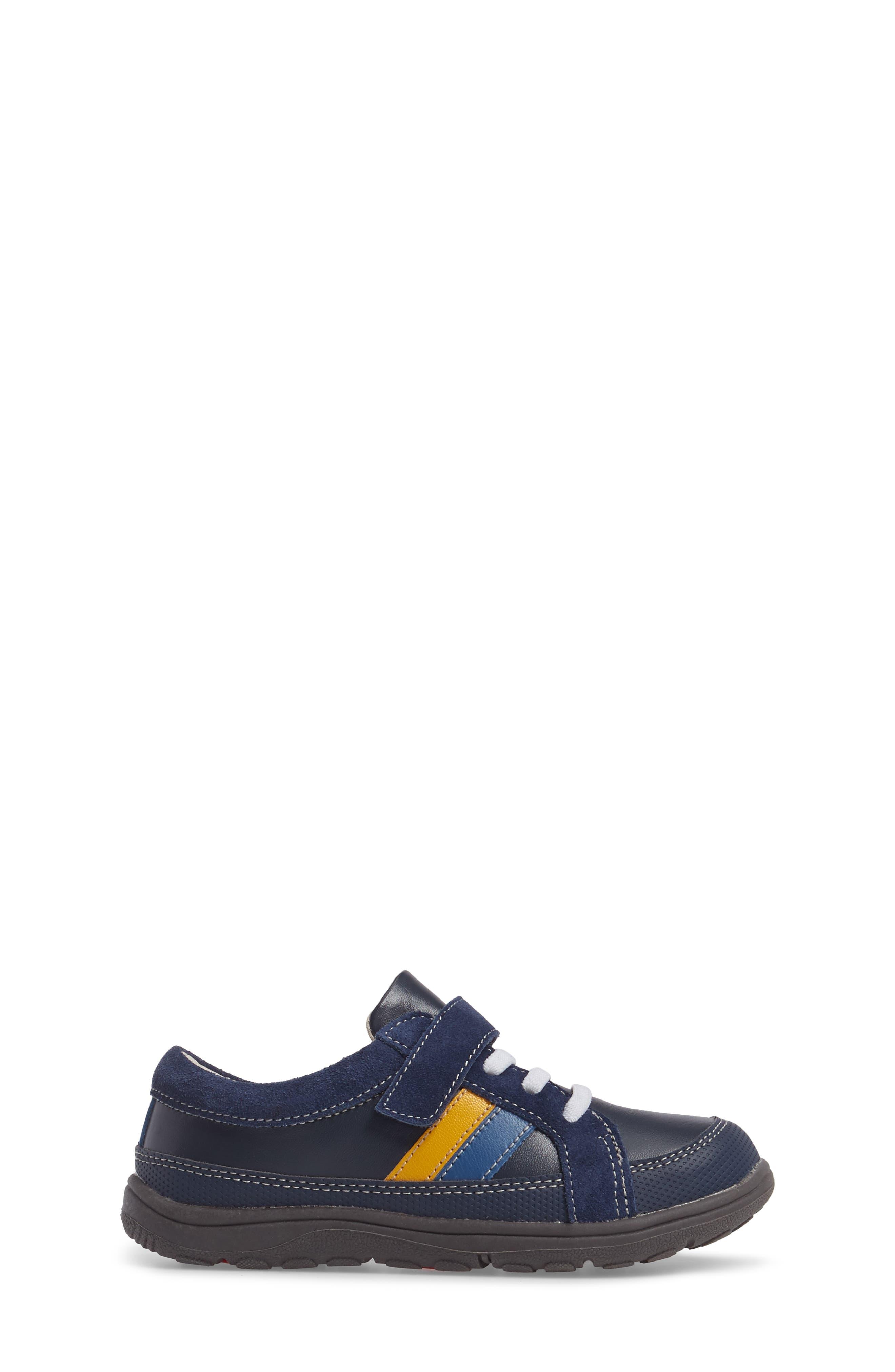 'Randall' Sneaker,                             Alternate thumbnail 3, color,                             Navy