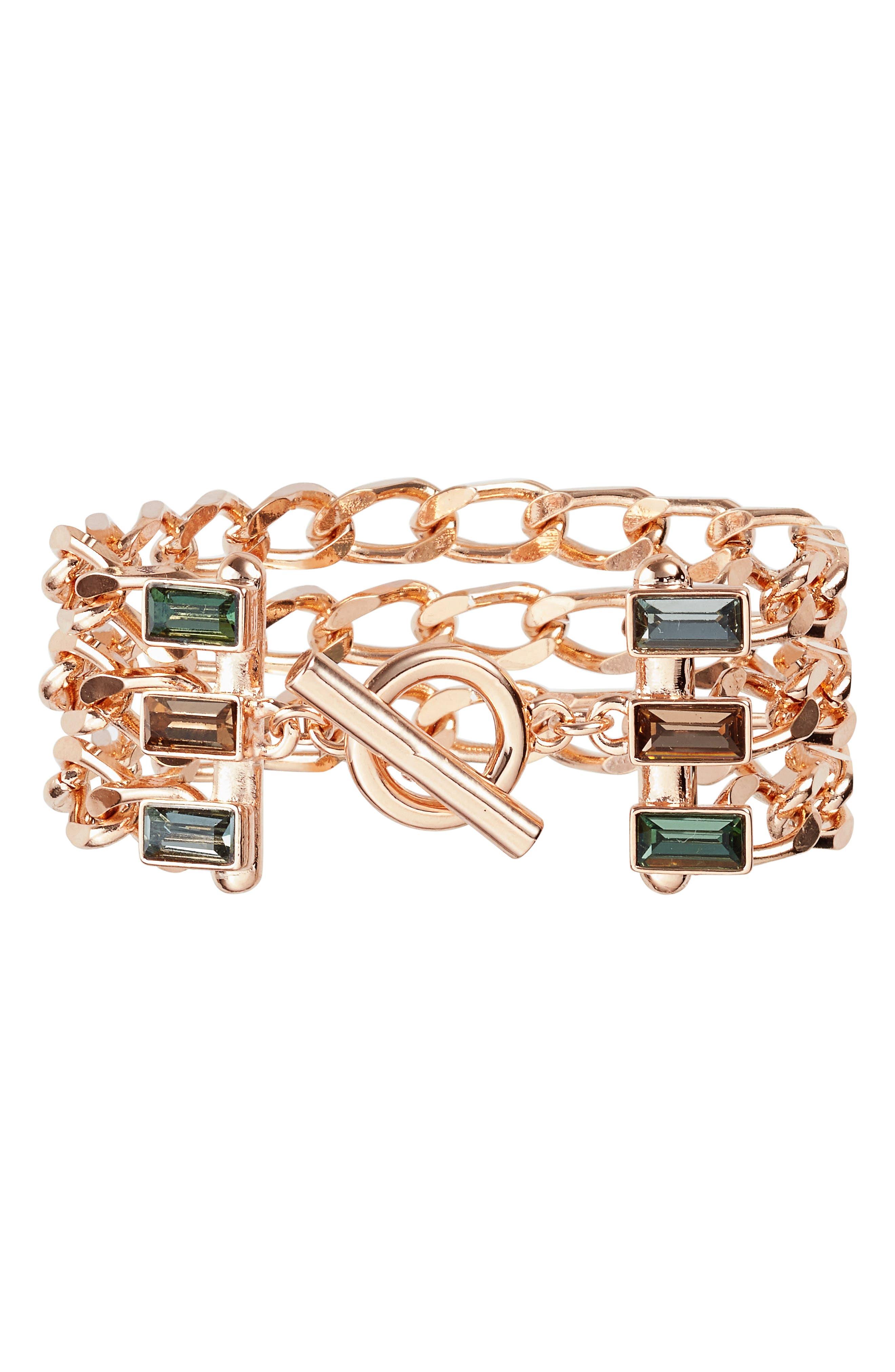VINCE CAMUTO Multistrand Link Bracelet
