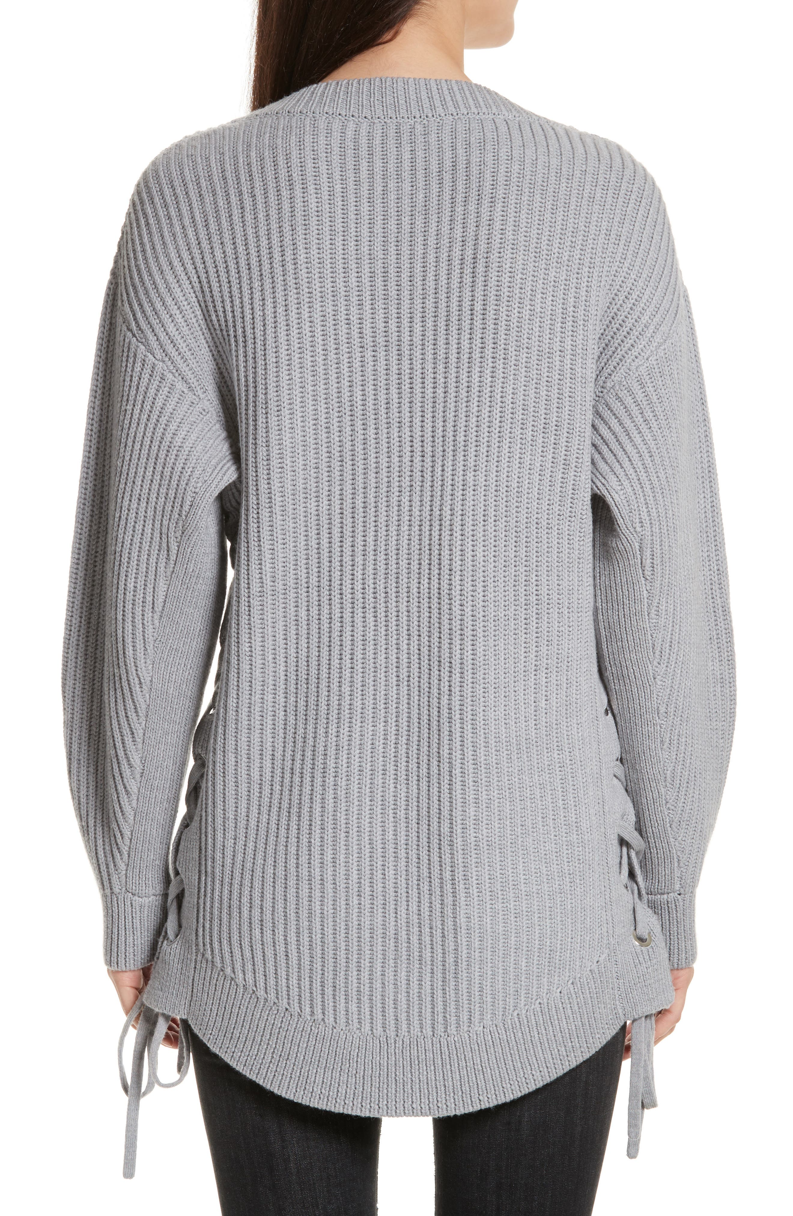 Alternate Image 2  - rag & bone/JEAN Ivy Side Tie Sweater