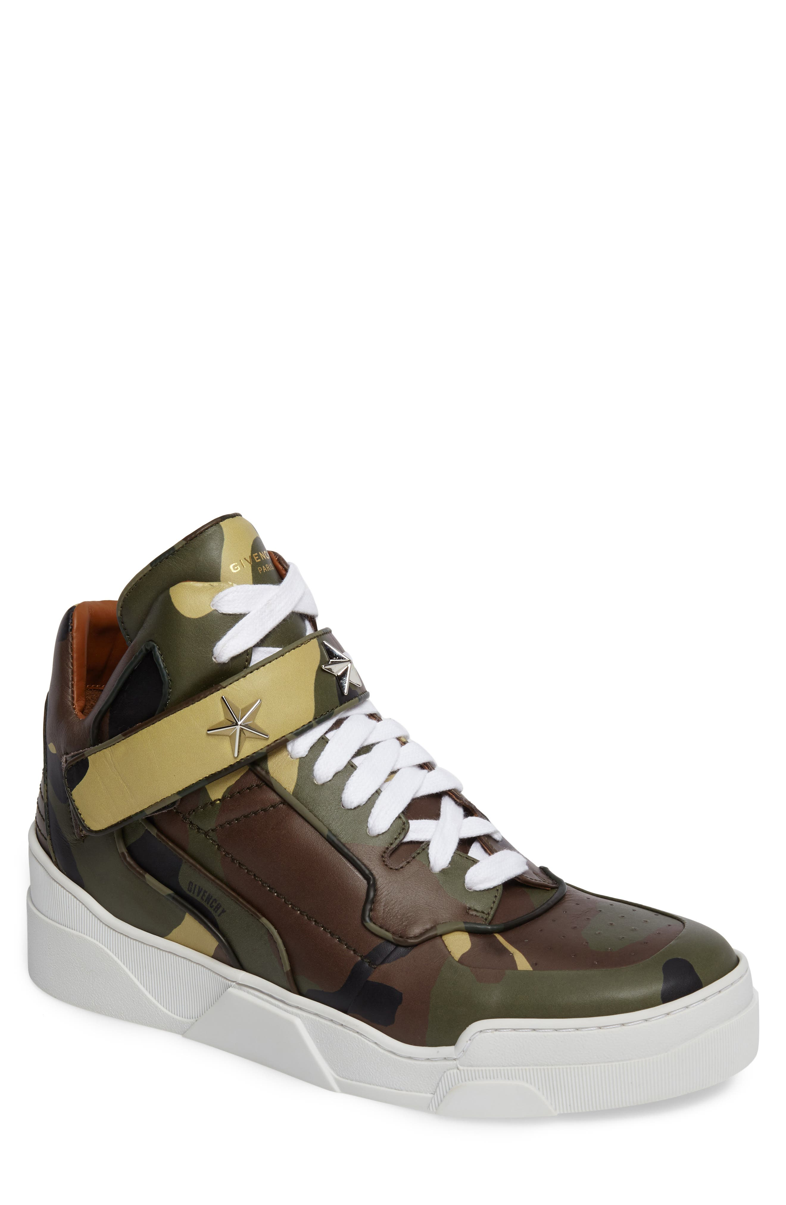 Alternate Image 1 Selected - Givenchy 'Tyson' High Top Sneaker (Men) (Nordstrom Exclusive)