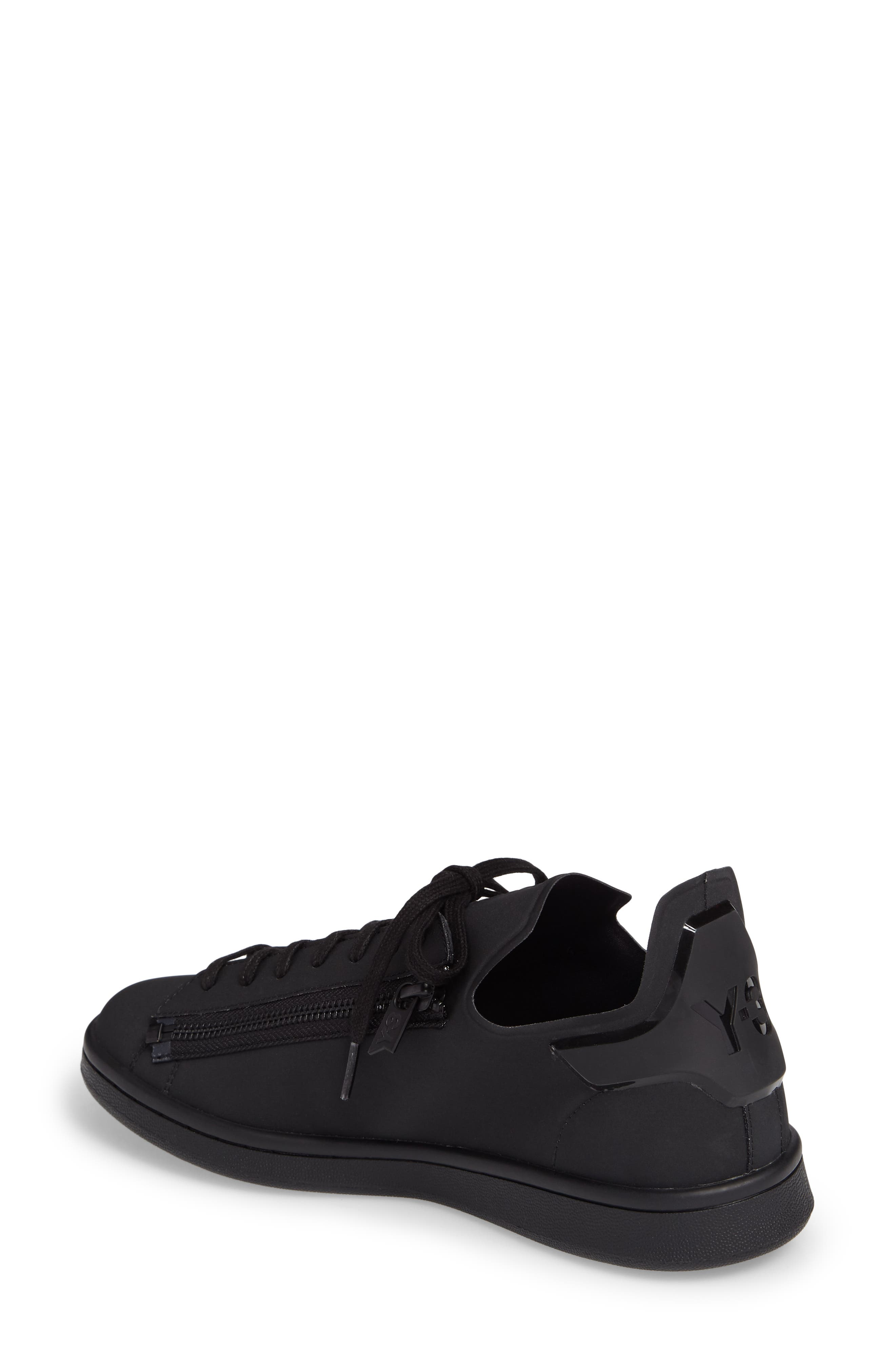 Stan Low Top Sneaker,                             Alternate thumbnail 2, color,                             Core Black