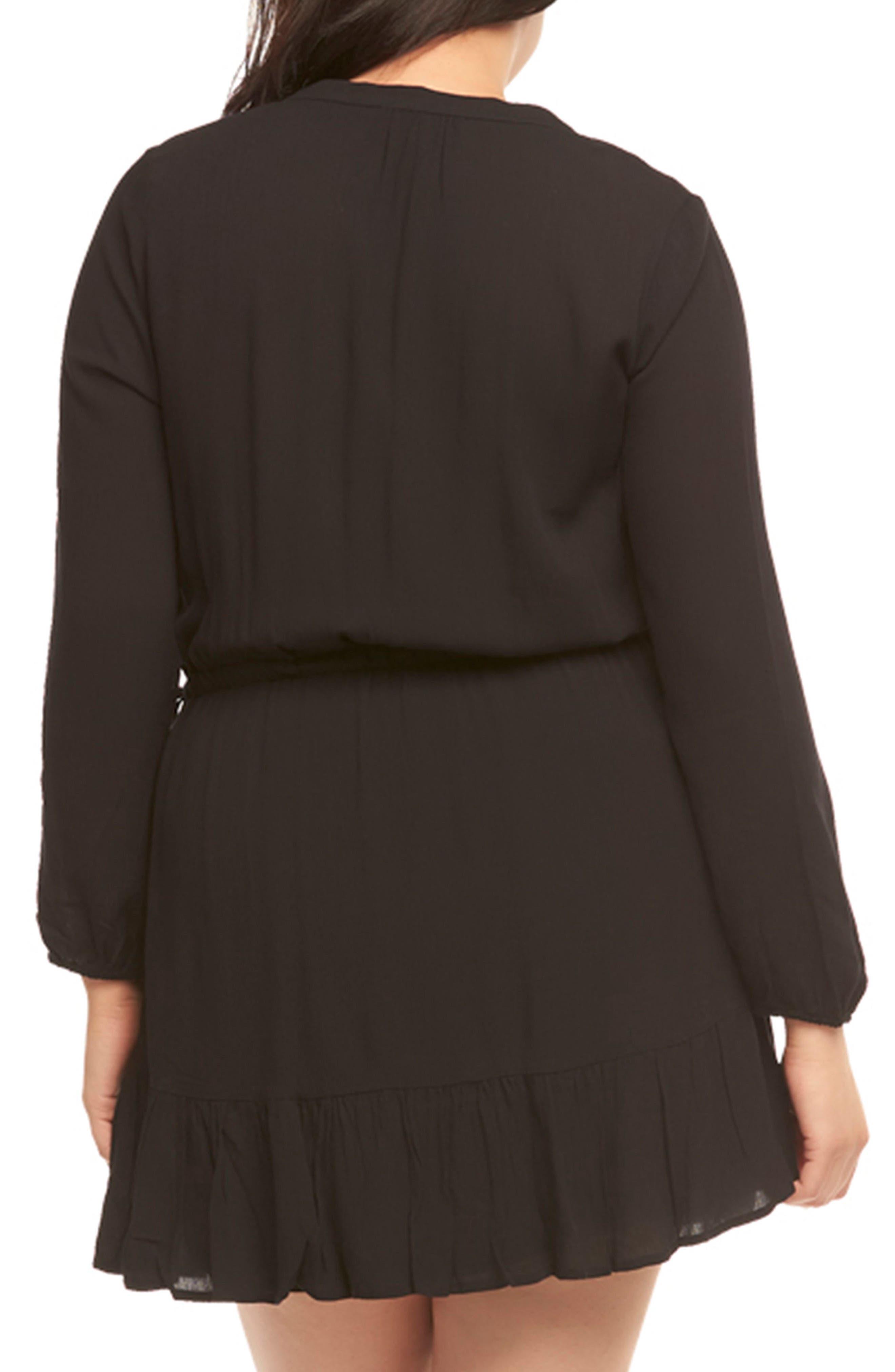 Alternate Image 2  - Tart Sian Shirtdress (Plus Size)