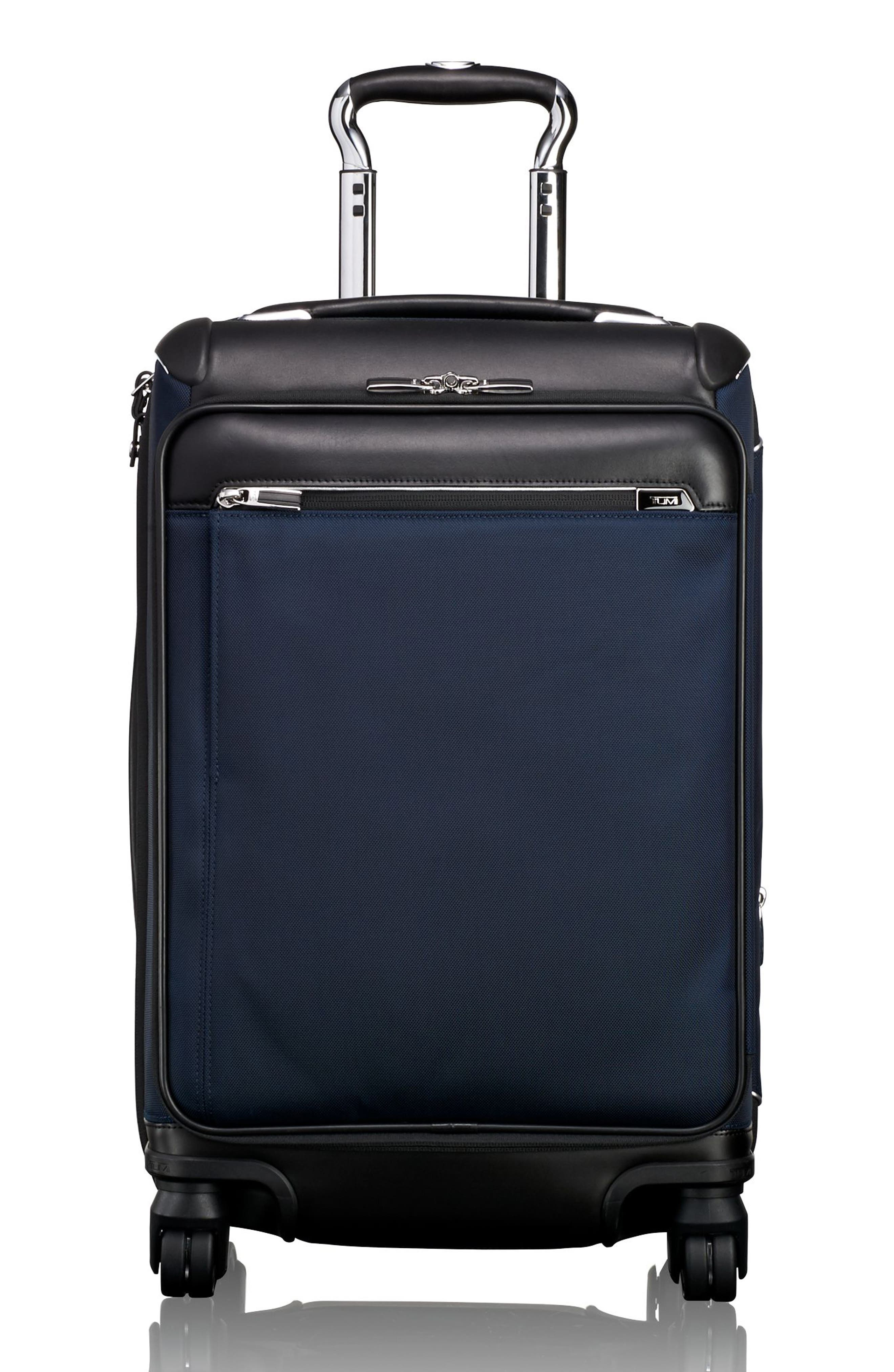 Gatwick 22-Inch International Expandable Carry-On,                             Main thumbnail 1, color,                             Navy
