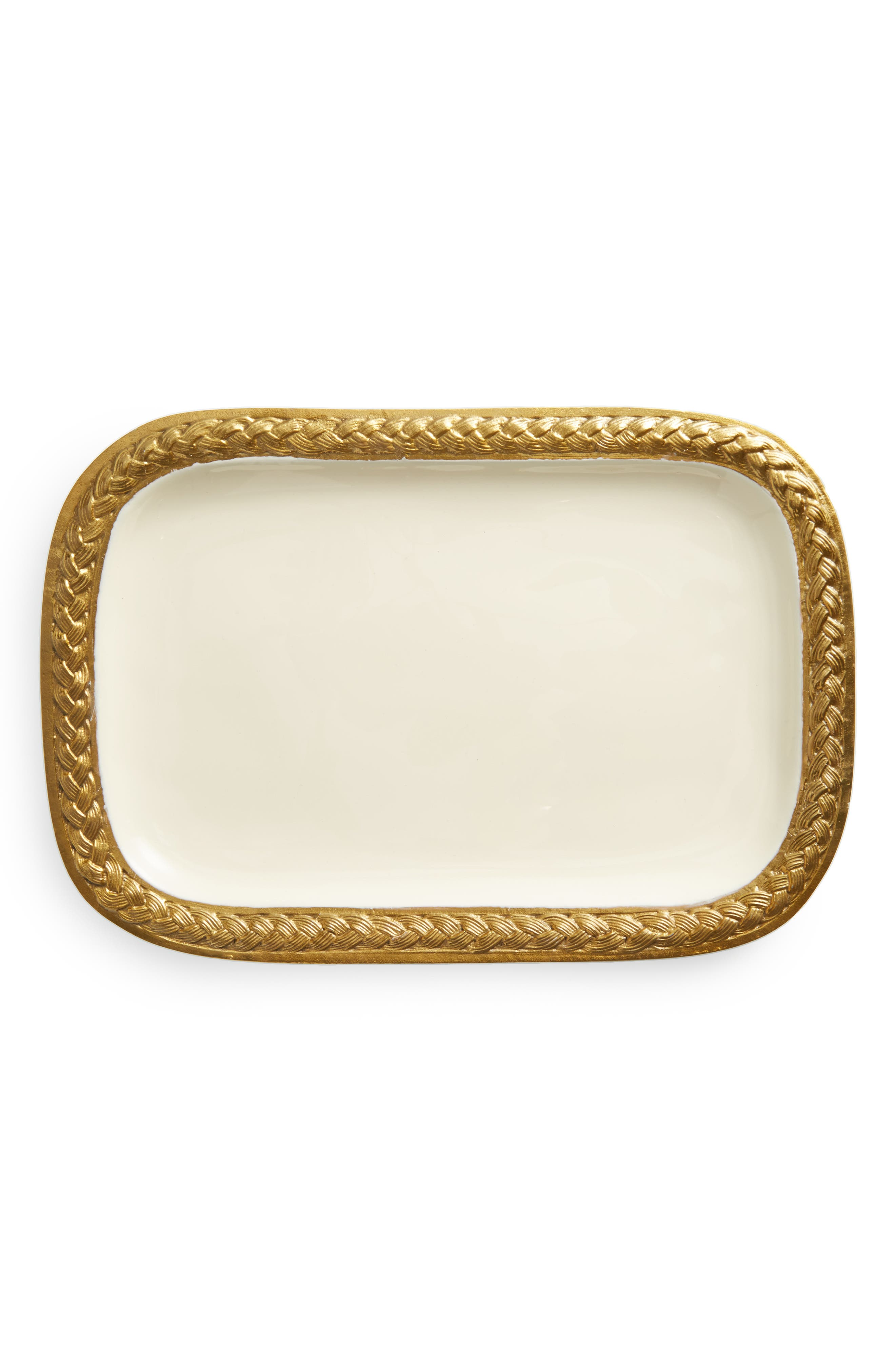 Alternate Image 1 Selected - Marigold Artisans Braid Platter