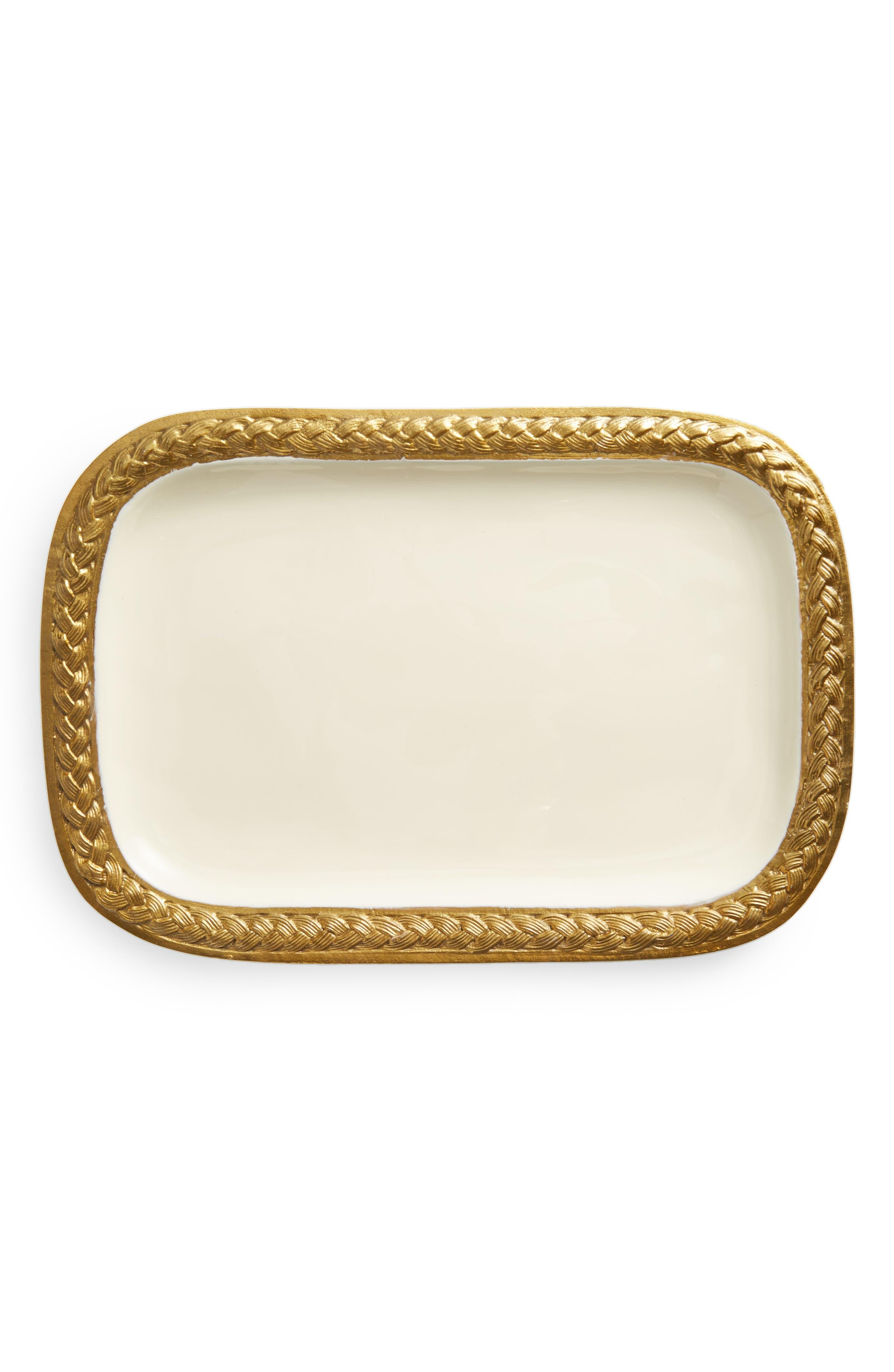 Braid Platter,                         Main,                         color, White