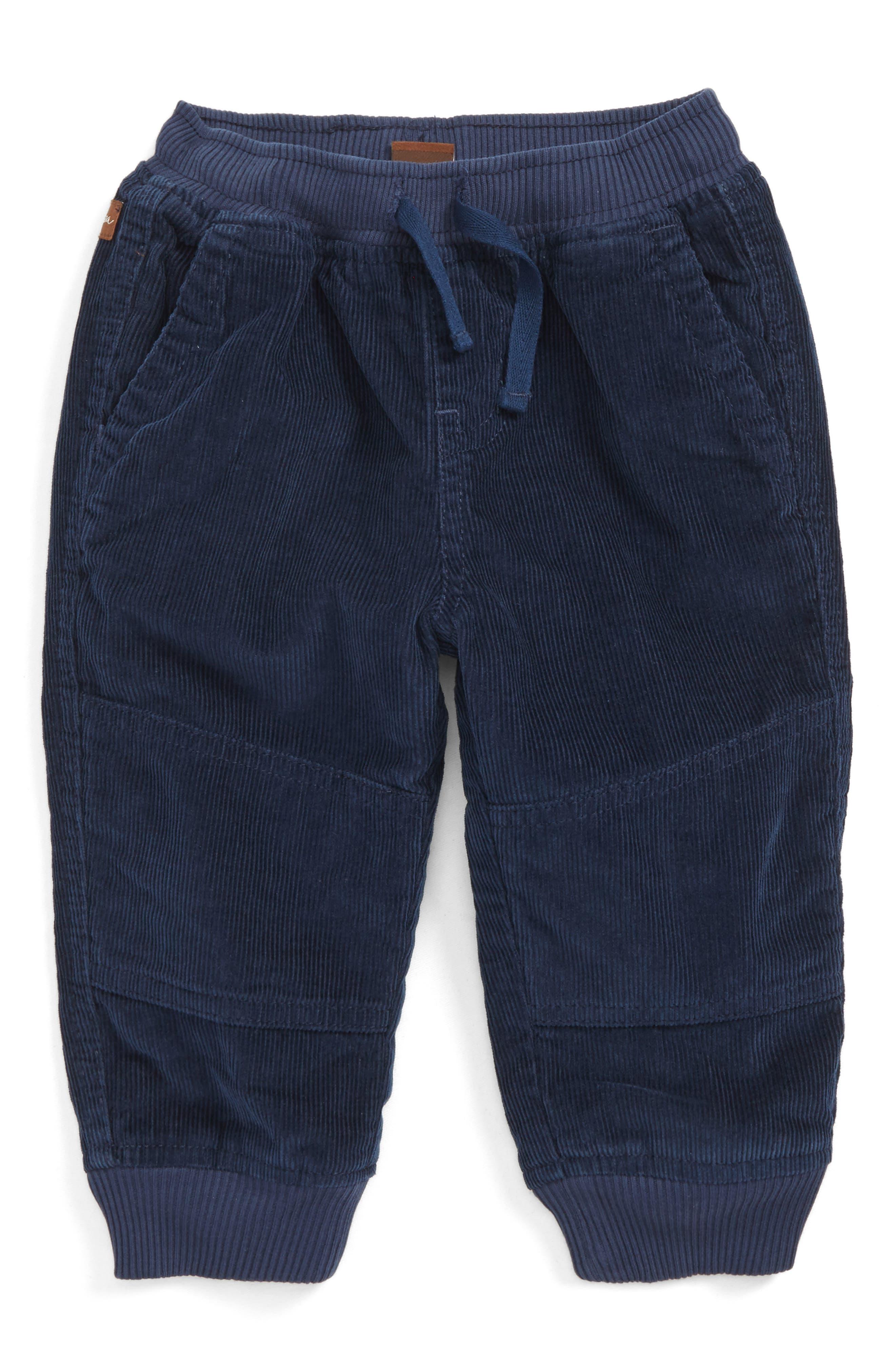 Main Image - Tea Collection Corduroy Jogging Pants (Baby Boys)