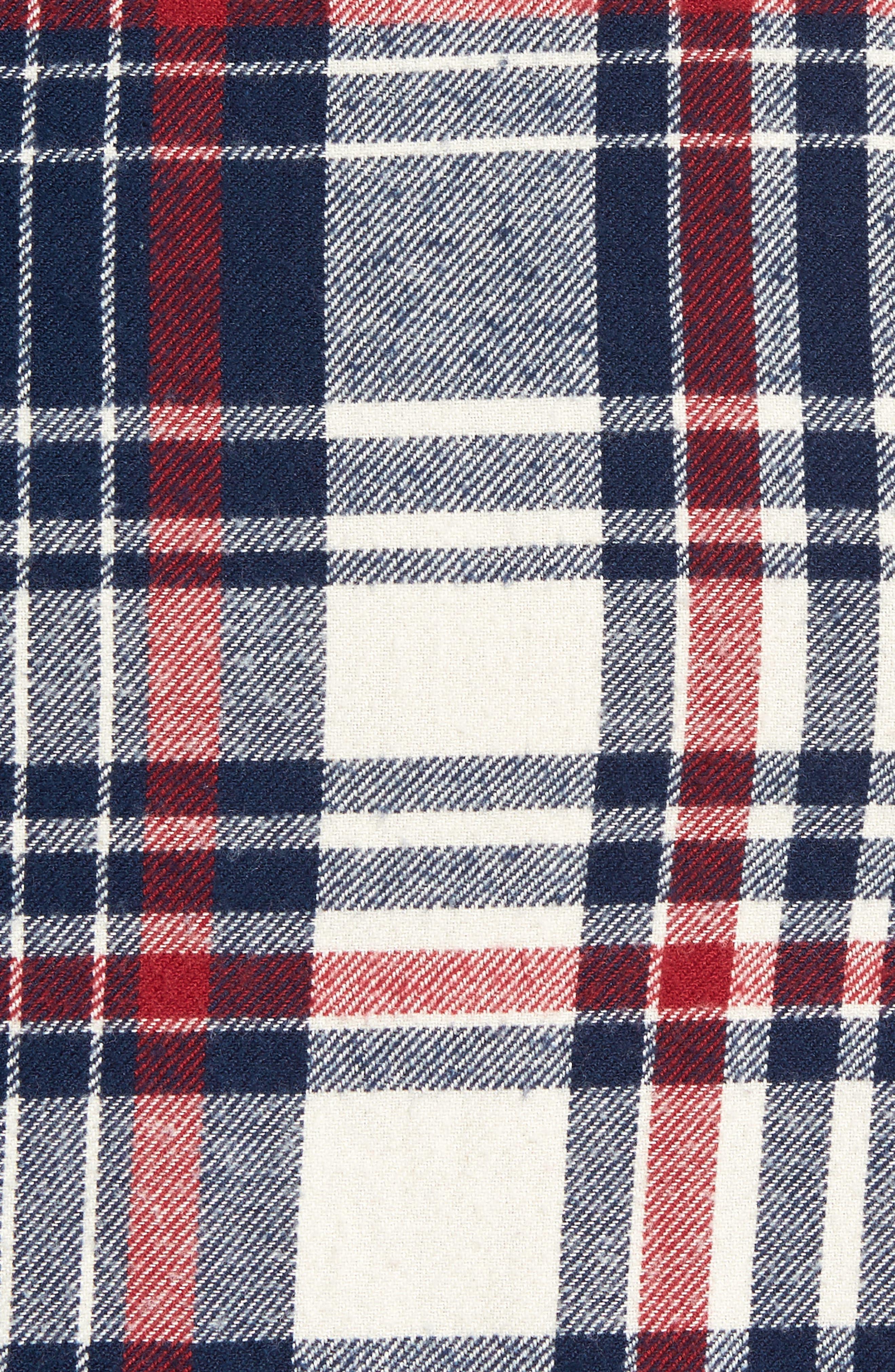 Alternate Image 5  - Nordstrom Men's Shop Trim Fit Patchwork Sport Shirt