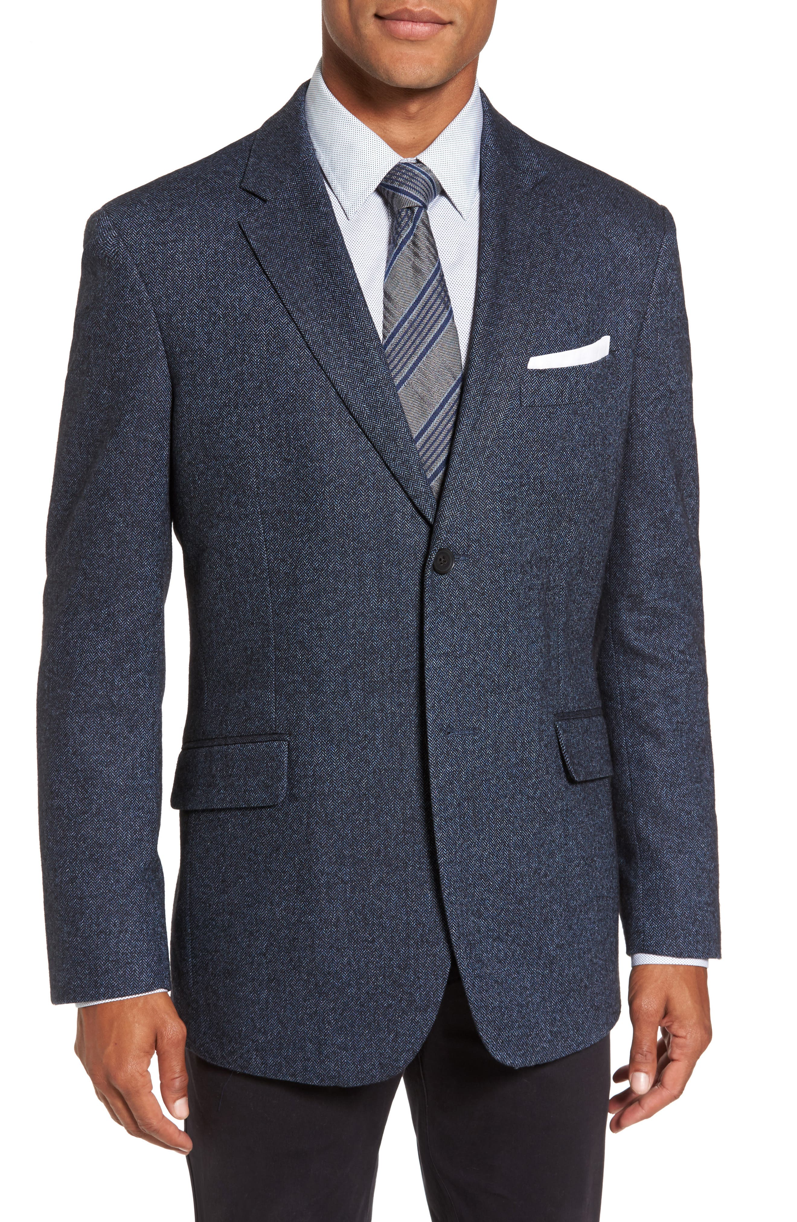 RODD & GUNN Charring Cross Original Fit Herringbone Sport Coat