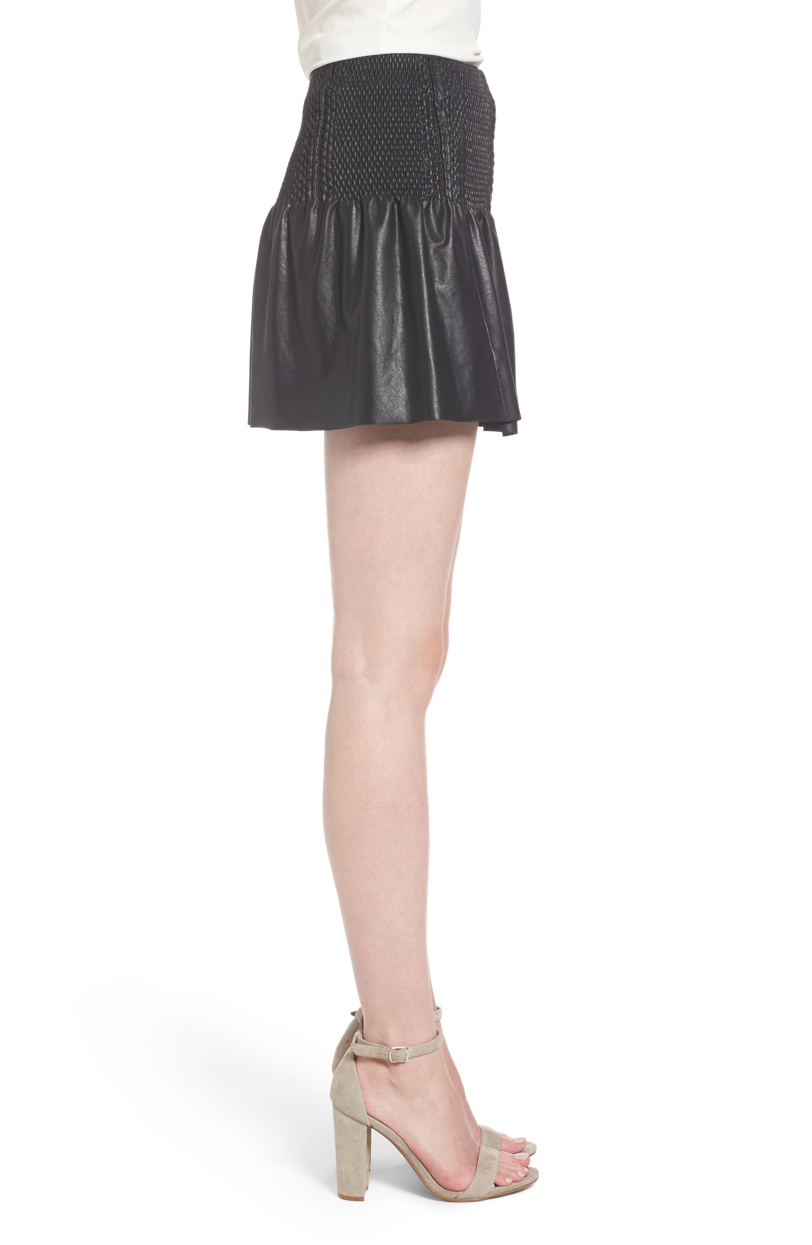 Alternate Image 3  - Ella Moss Geela Smocked Skirt