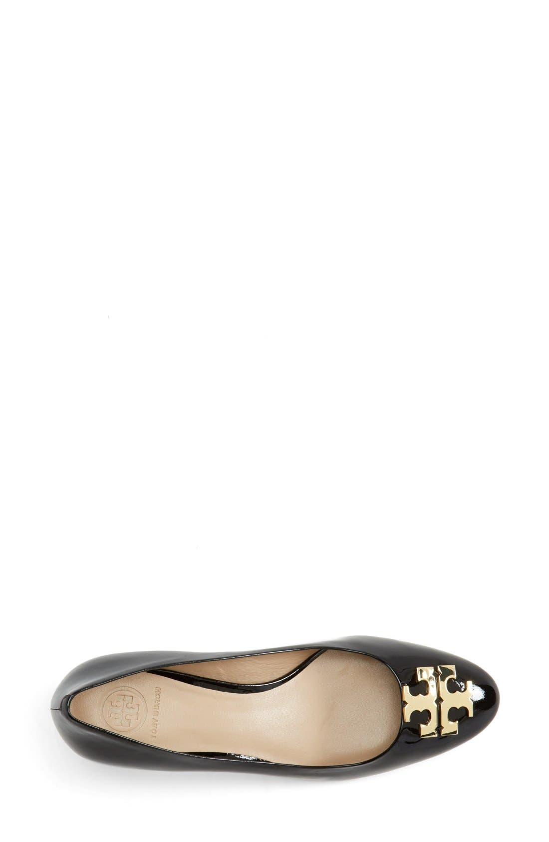 Alternate Image 3  - Tory Burch 'Raleigh' Patent Leather Pump (Women)