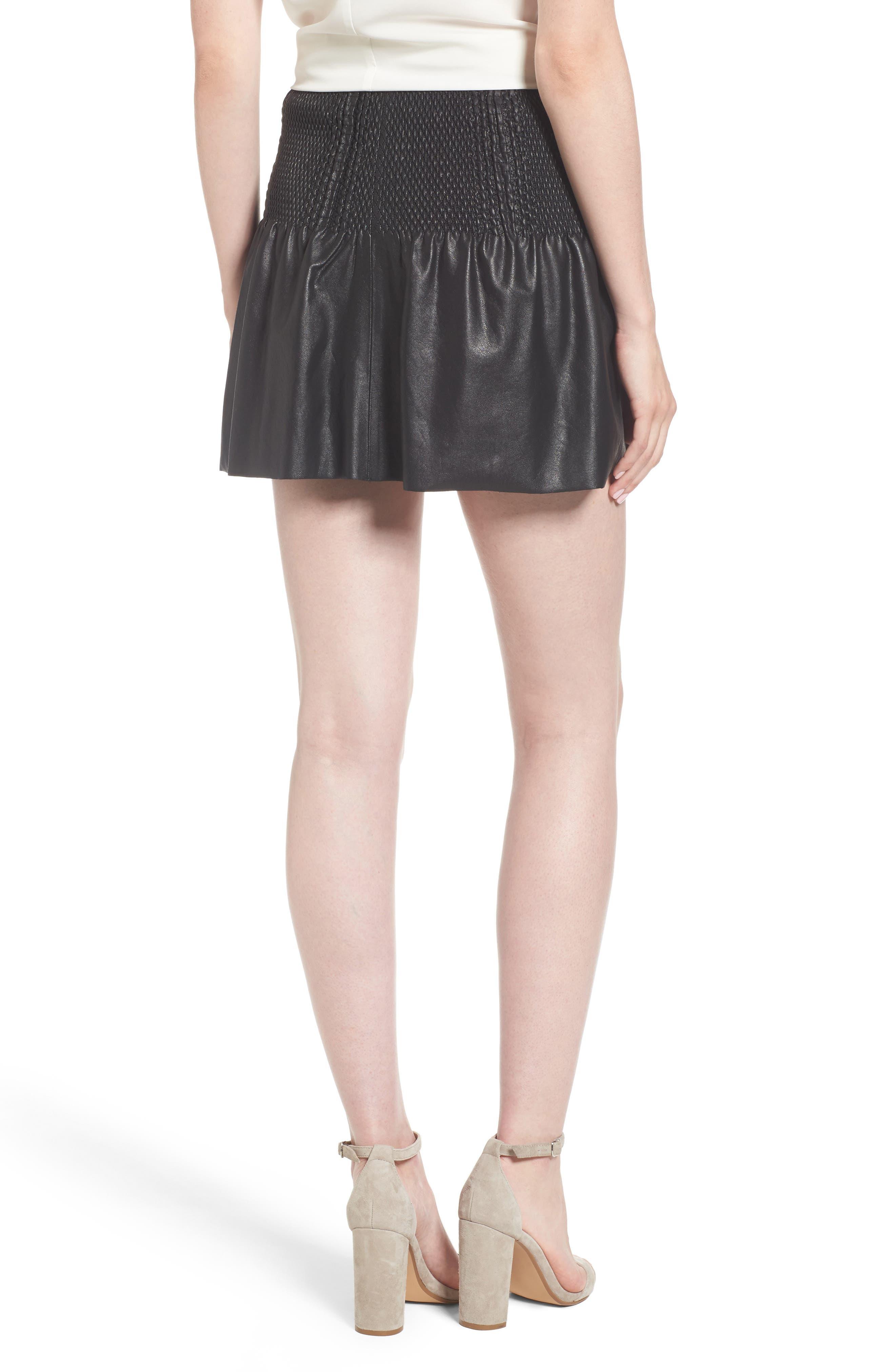 Alternate Image 2  - Ella Moss Geela Smocked Skirt