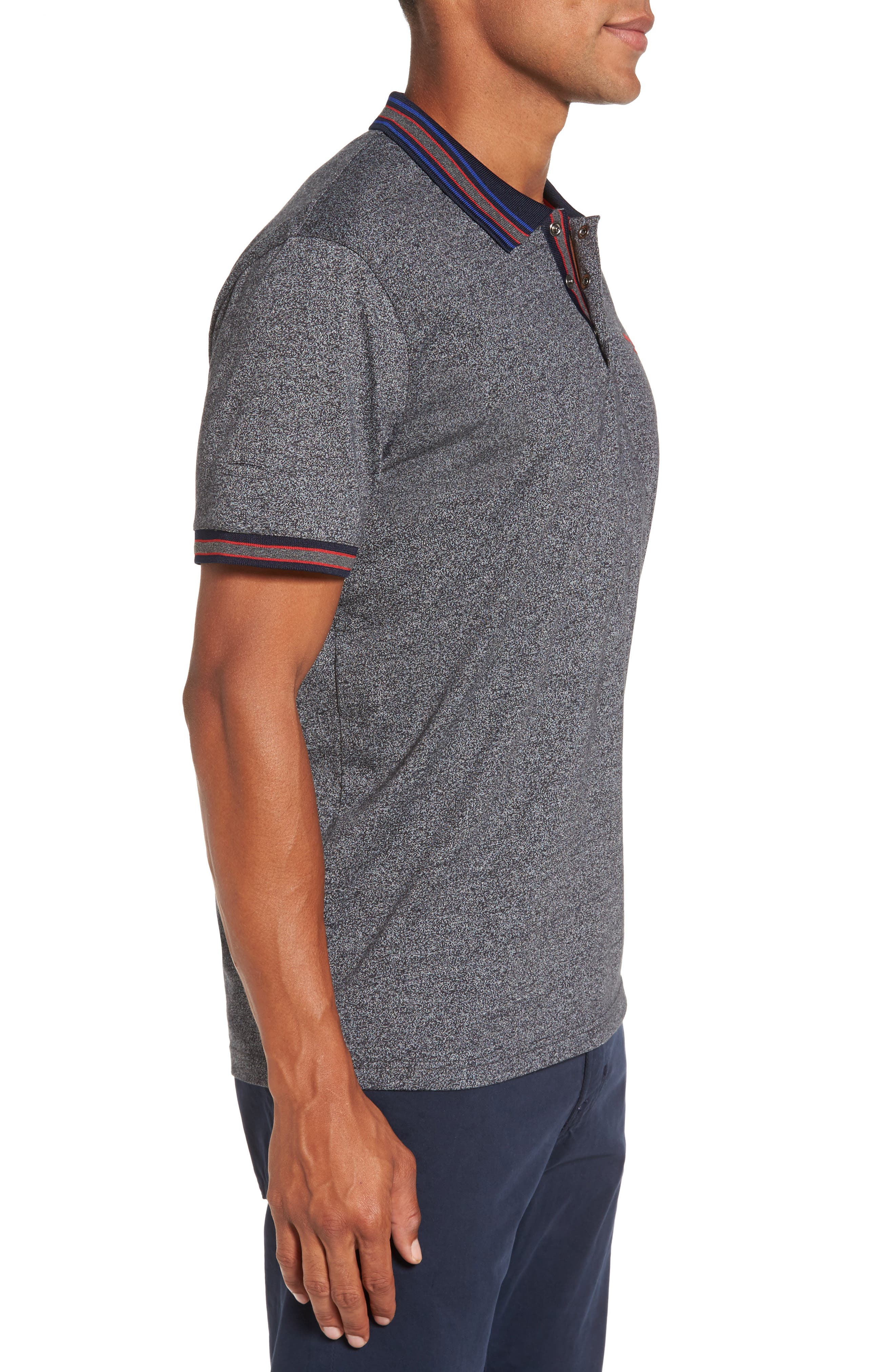 Alternate Image 3  - Ted Baker London Fore Mouline Golf Polo