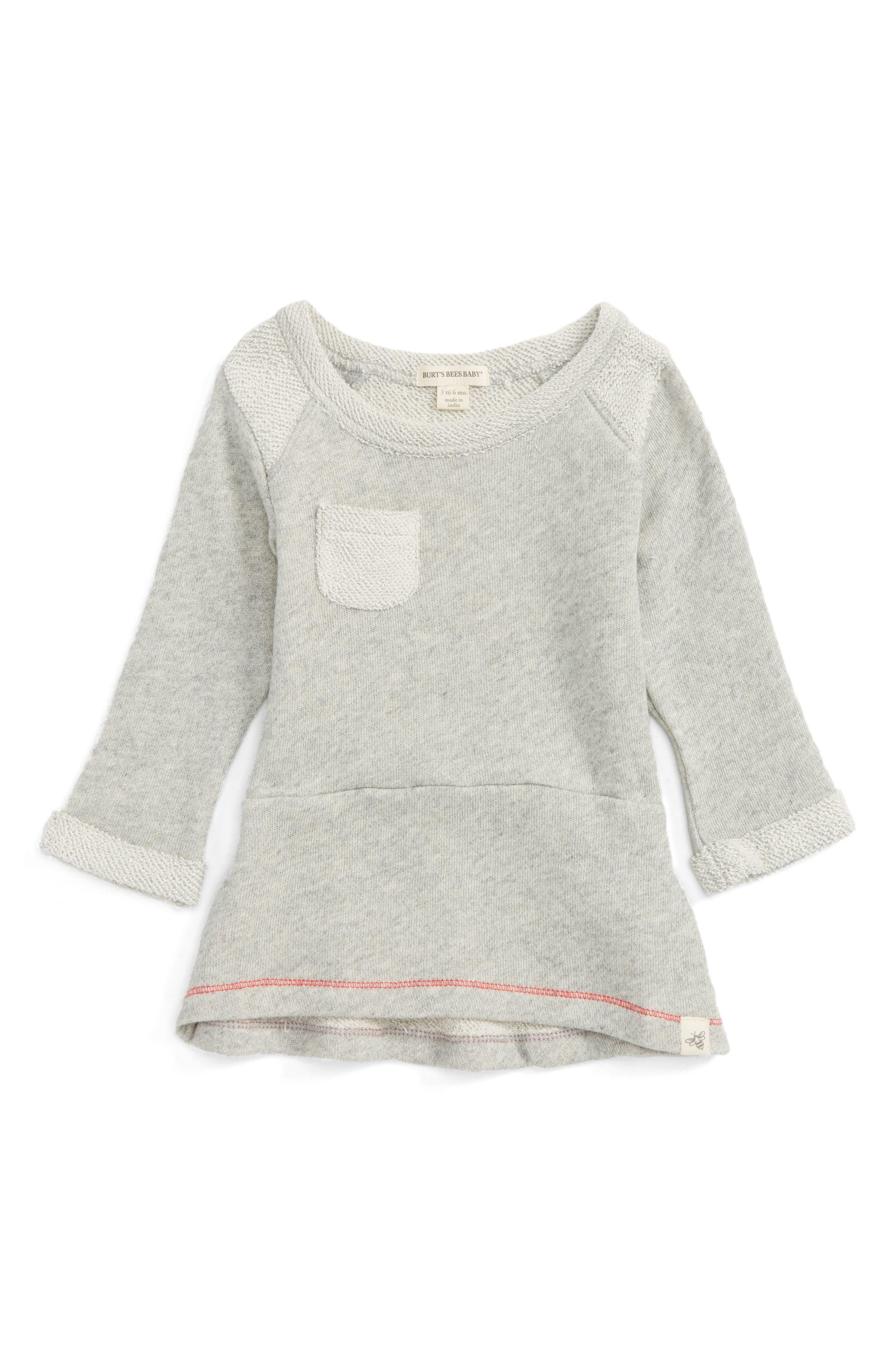 Burt's Bee's Baby Organic Cotton Terry Dress (Baby Girls)