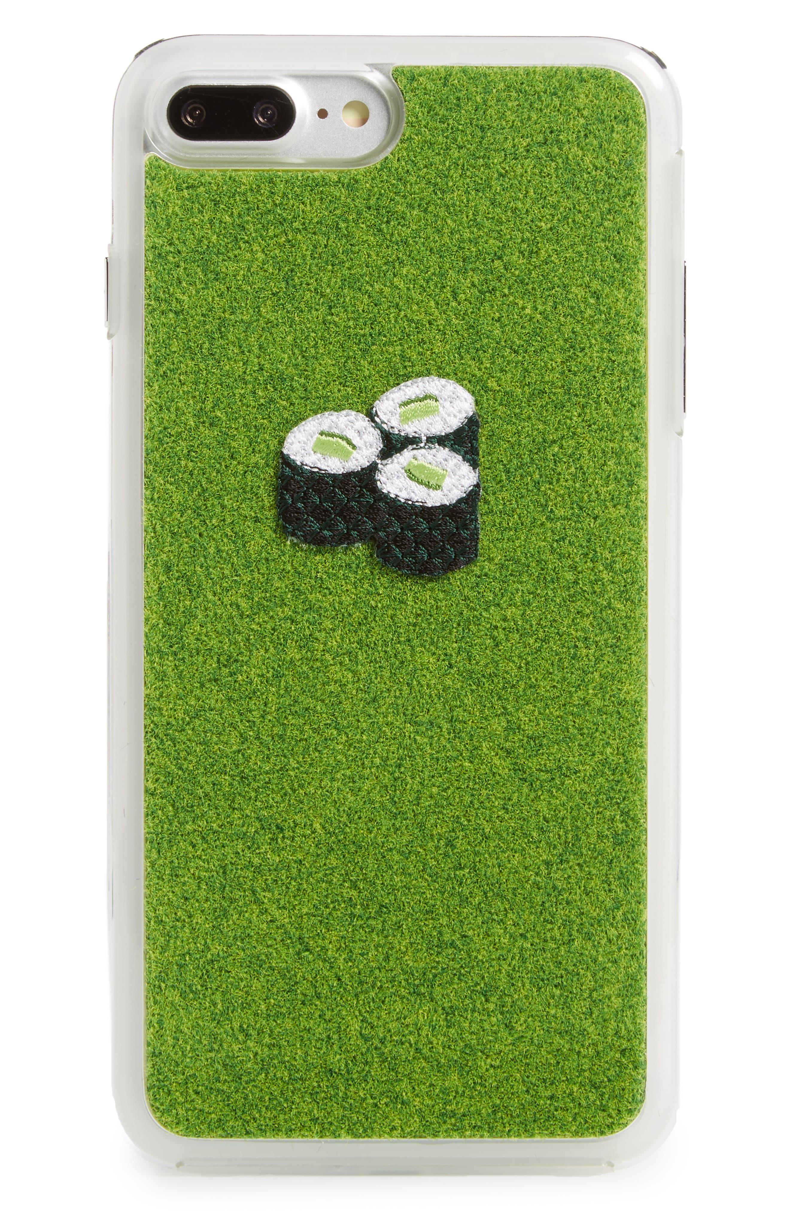 Sushi Kappa iPhone 7/8 & 7/8 Plus Case,                         Main,                         color, Original Green
