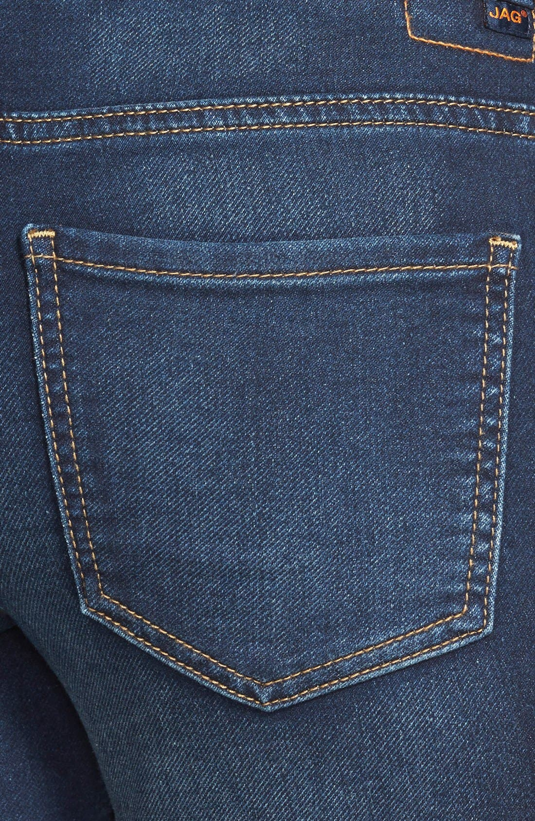 Alternate Image 3  - Jag Jeans 'Nora' Pull-On Stretch Knit Skinny Jeans