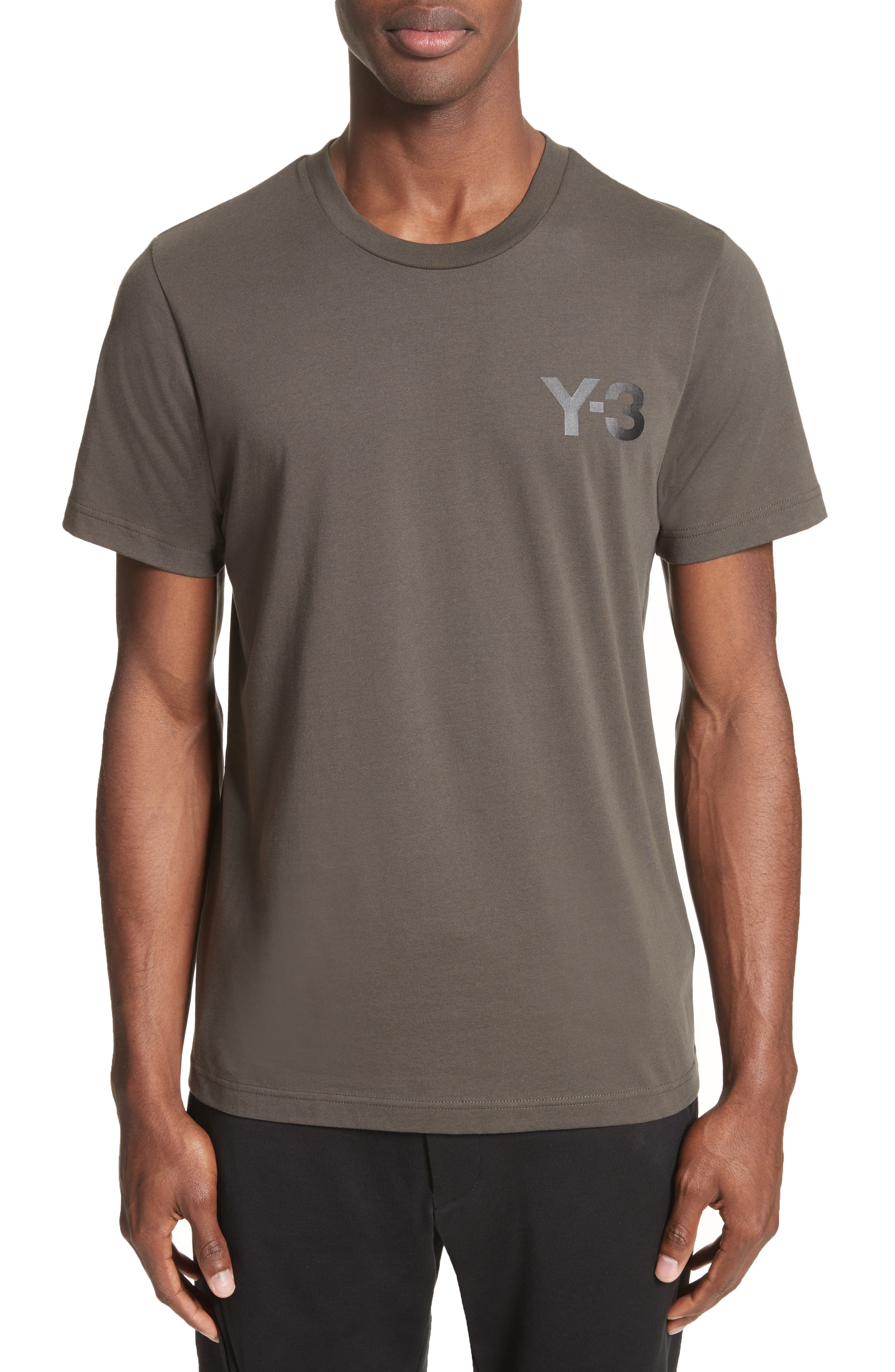 Classic Logo T-Shirt,                         Main,                         color, Black Olive