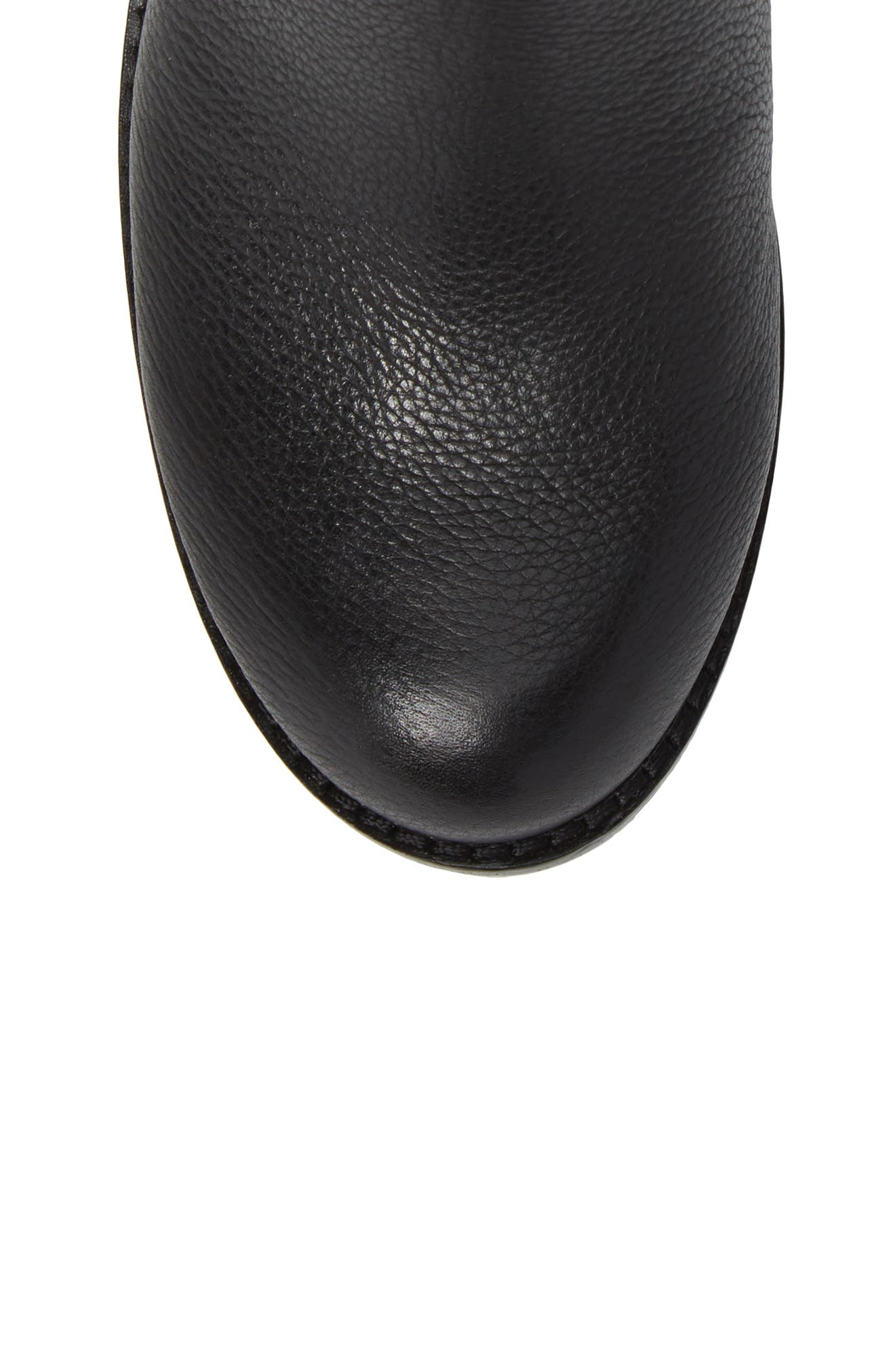 Webey Boot,                             Alternate thumbnail 5, color,                             Black Leather