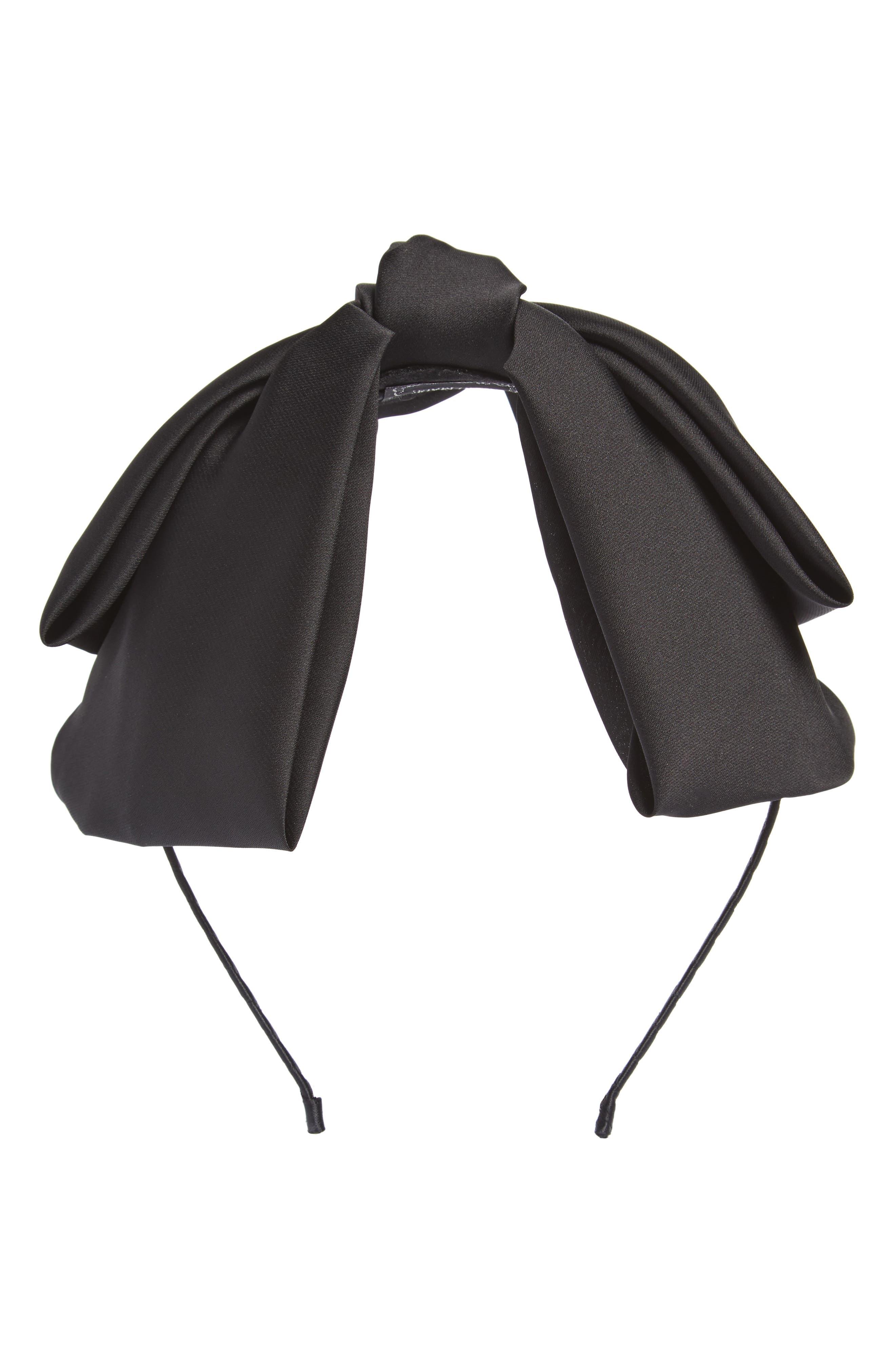 CARA Satin Bow Headband