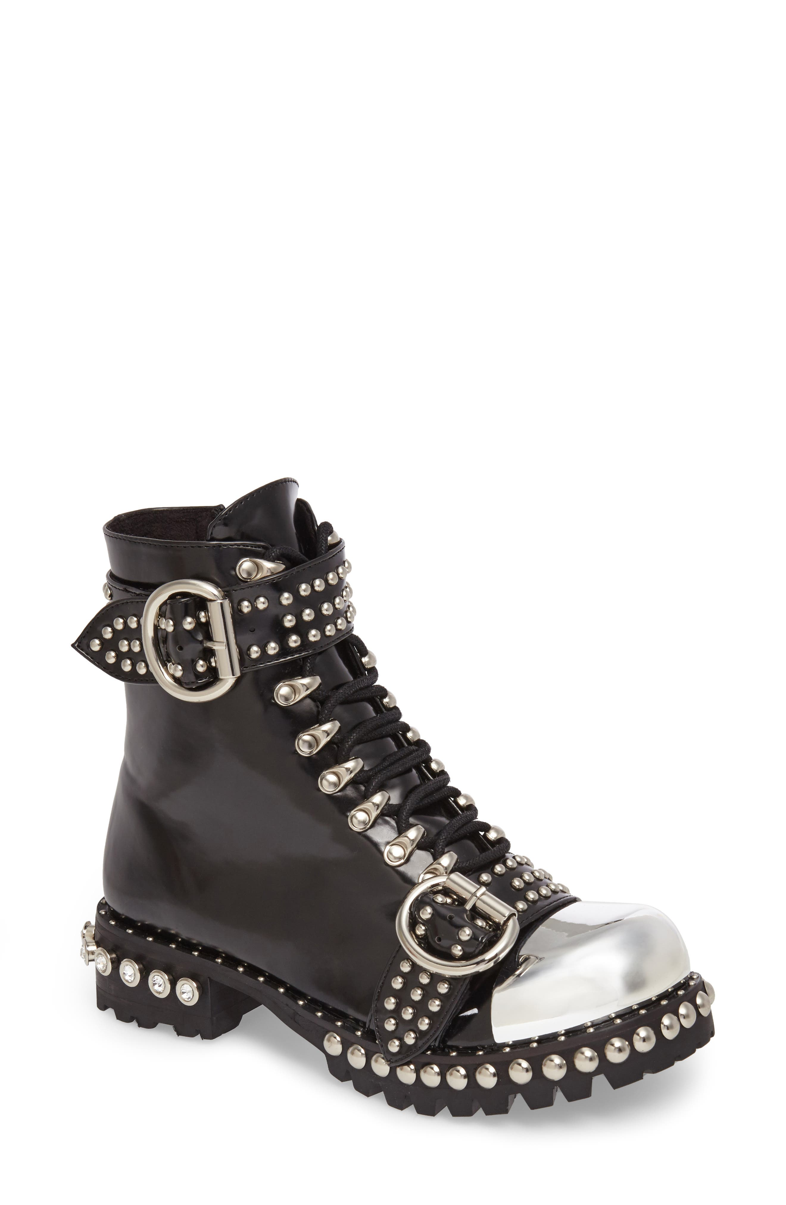 Jeffrey Campbell Gustine Studded Boot (Women)