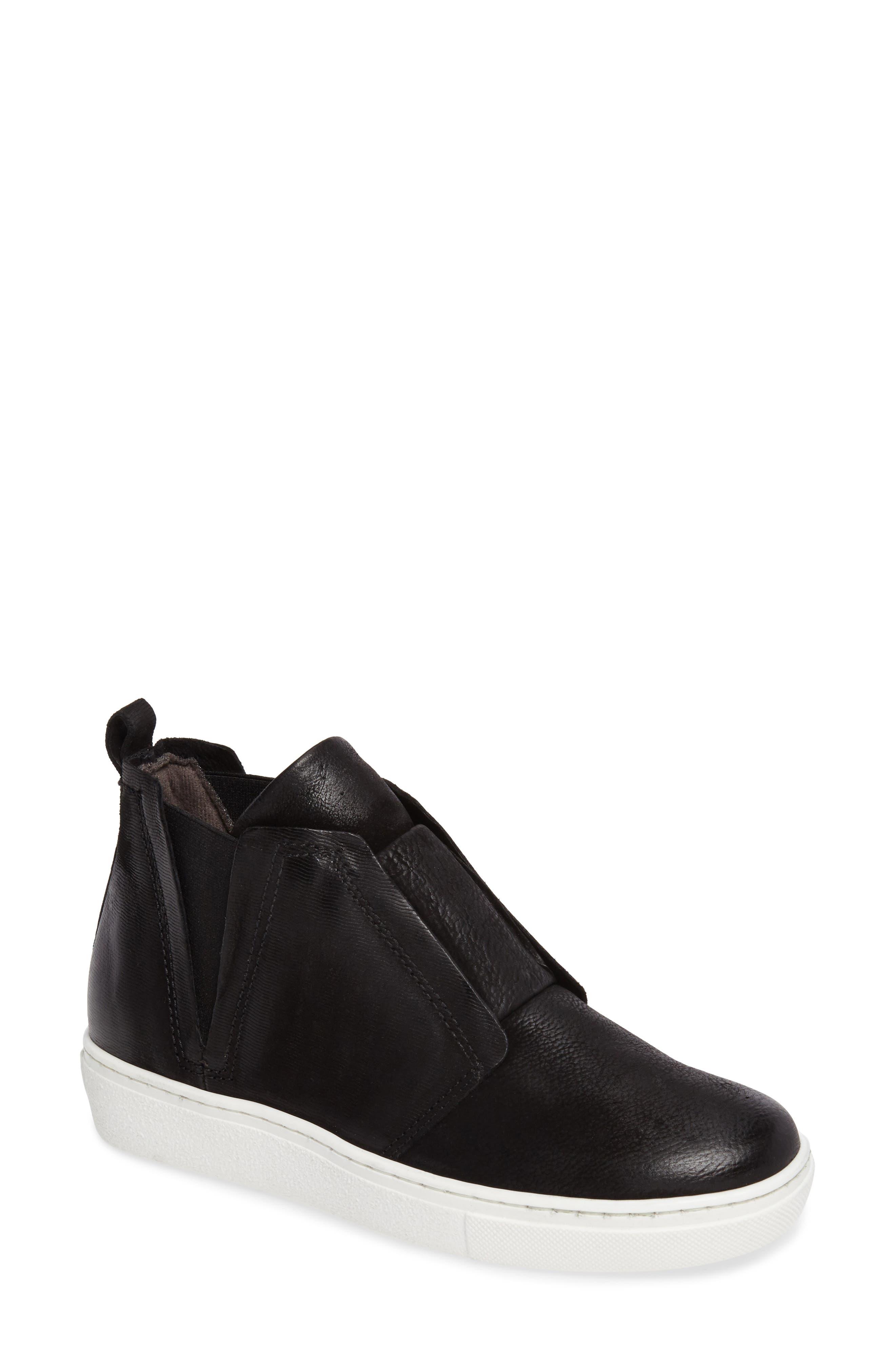 Laurent High Top Sneaker,                             Main thumbnail 1, color,                             Black
