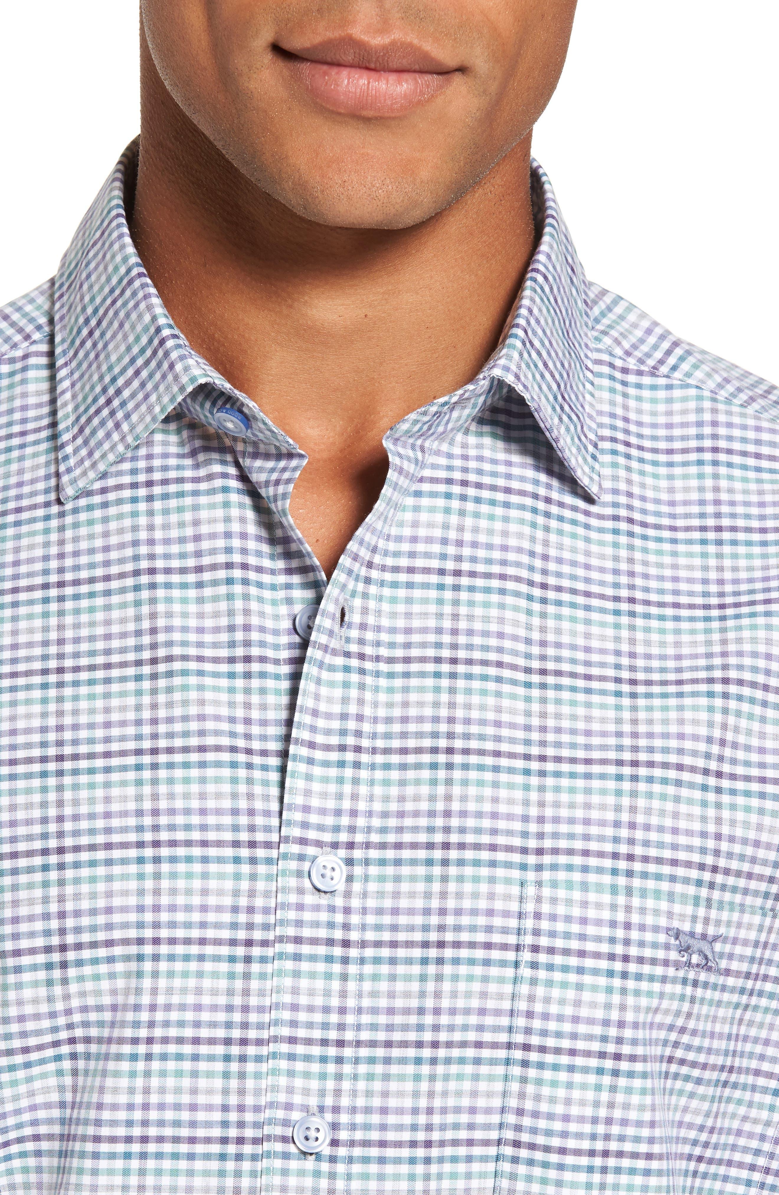 Alternate Image 4  - Rodd & Gunn Woodlaw Original Fit Check Sport Shirt