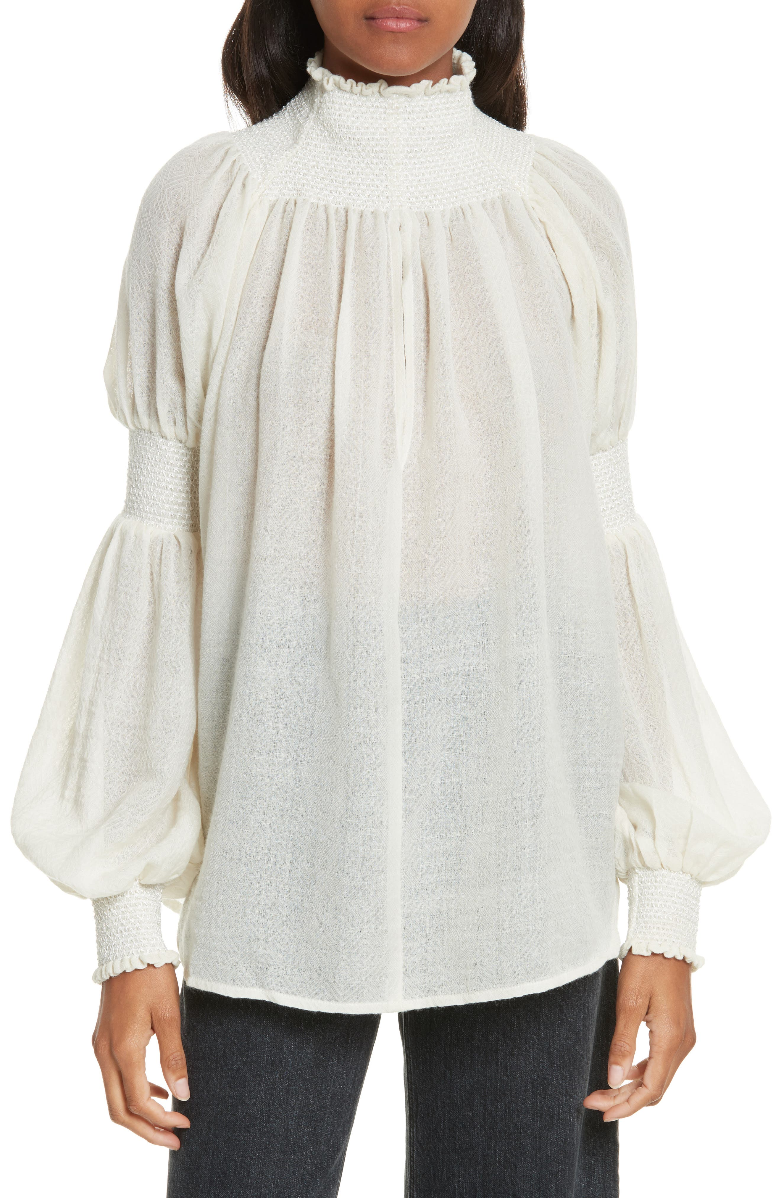 Alternate Image 1 Selected - Rachel Comey Renew Wool Top