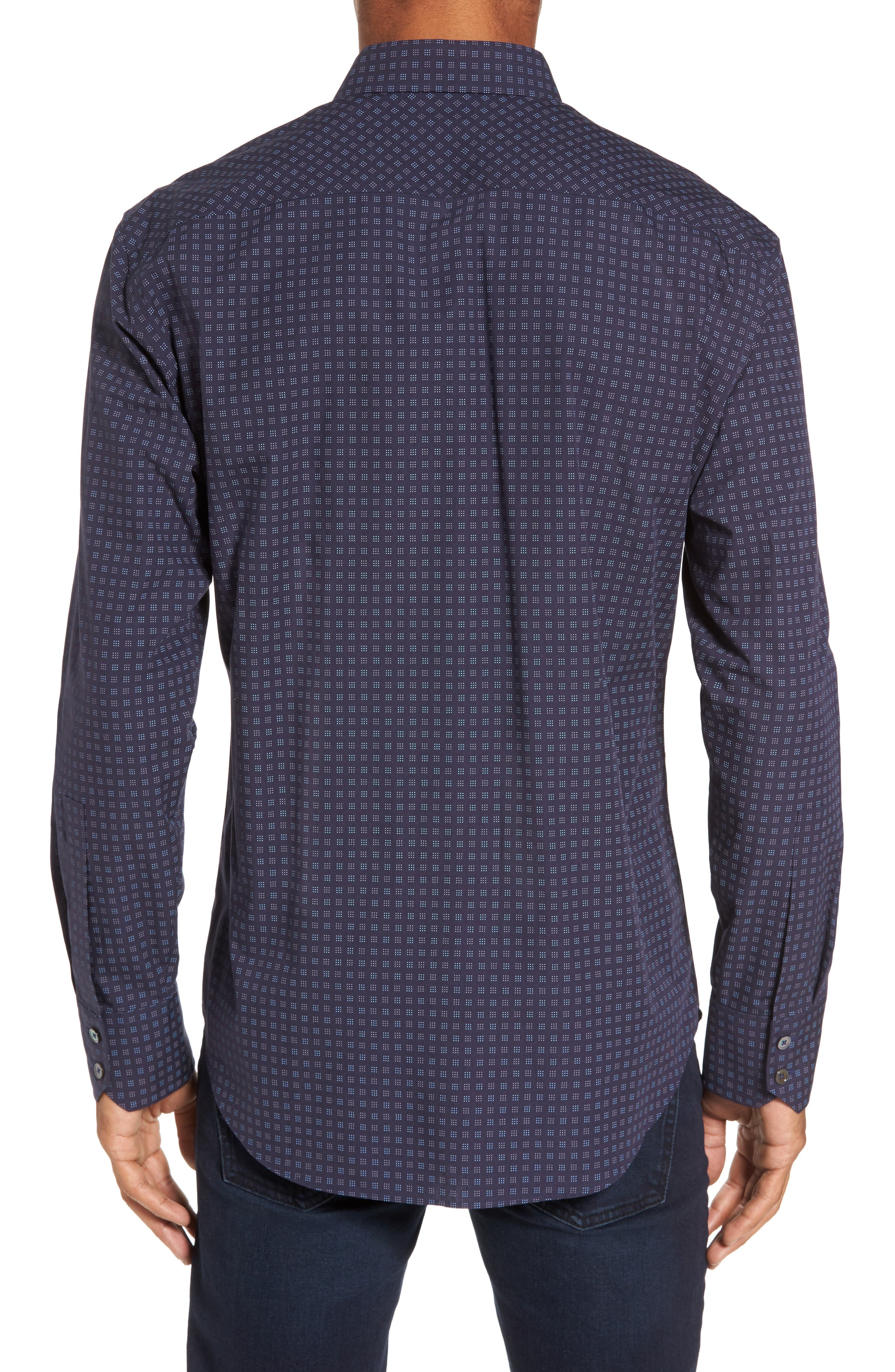 Alternate Image 2  - Zachary Prell Maison Slim Fit Print Sport Shirt