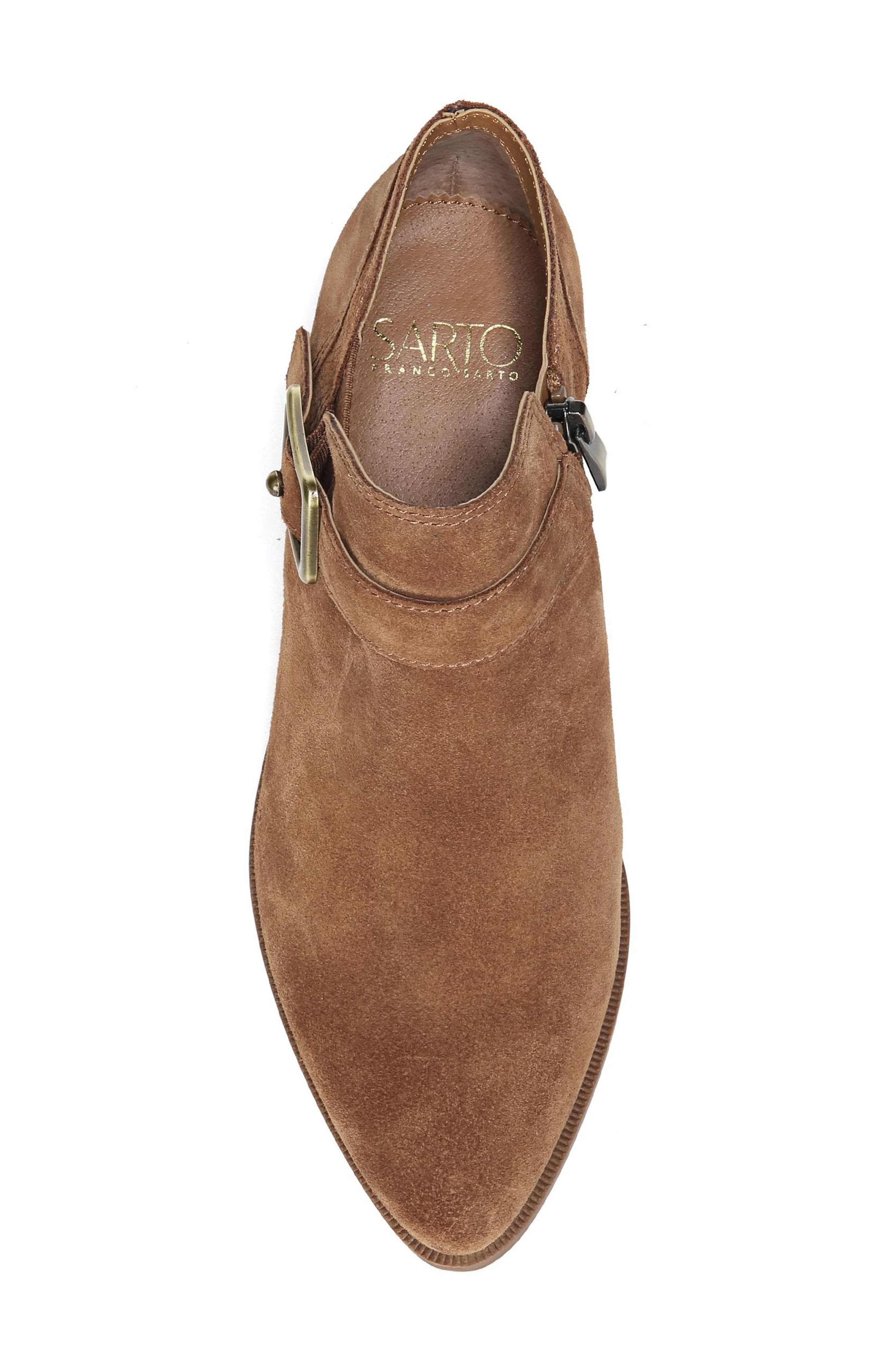 Penna Bootie,                             Alternate thumbnail 5, color,                             Whiskey Suede