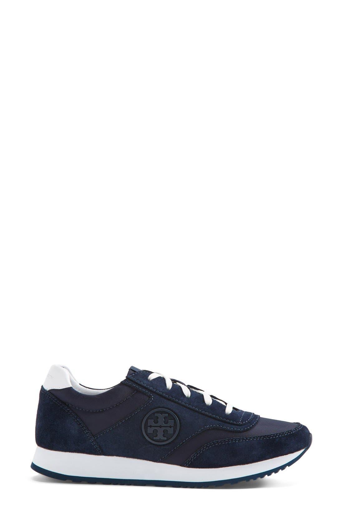 Alternate Image 4  - Tory Burch Logo Sneaker (Women)