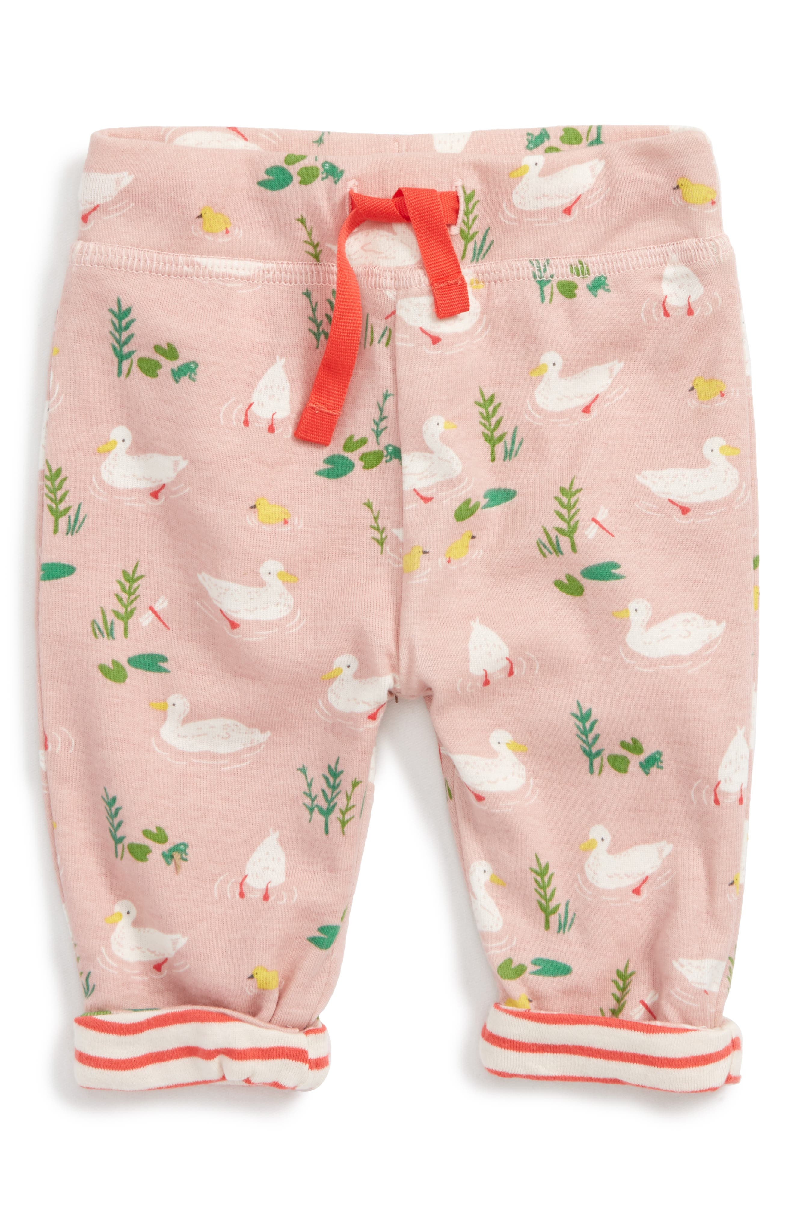 Mini Boden Supersoft Reversible Pants (Baby Girls & Toddler Girls)