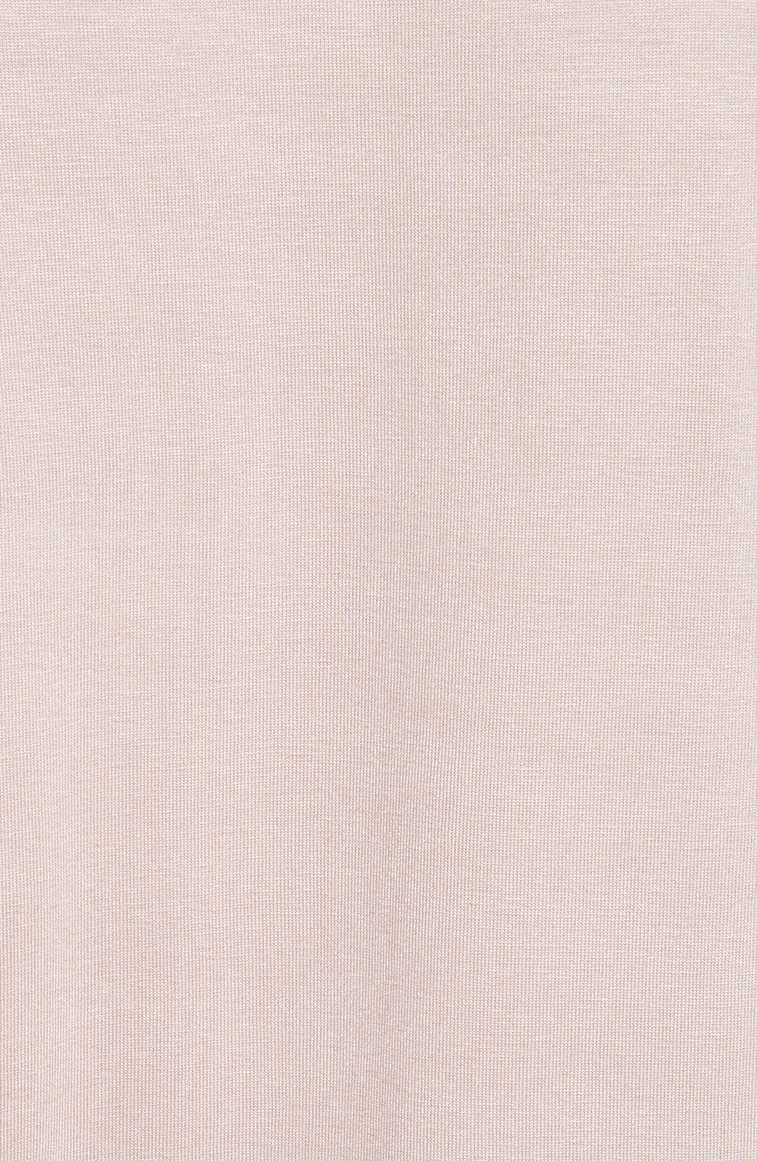 Narva Jersey Top,                             Alternate thumbnail 5, color,                             Nude Pink