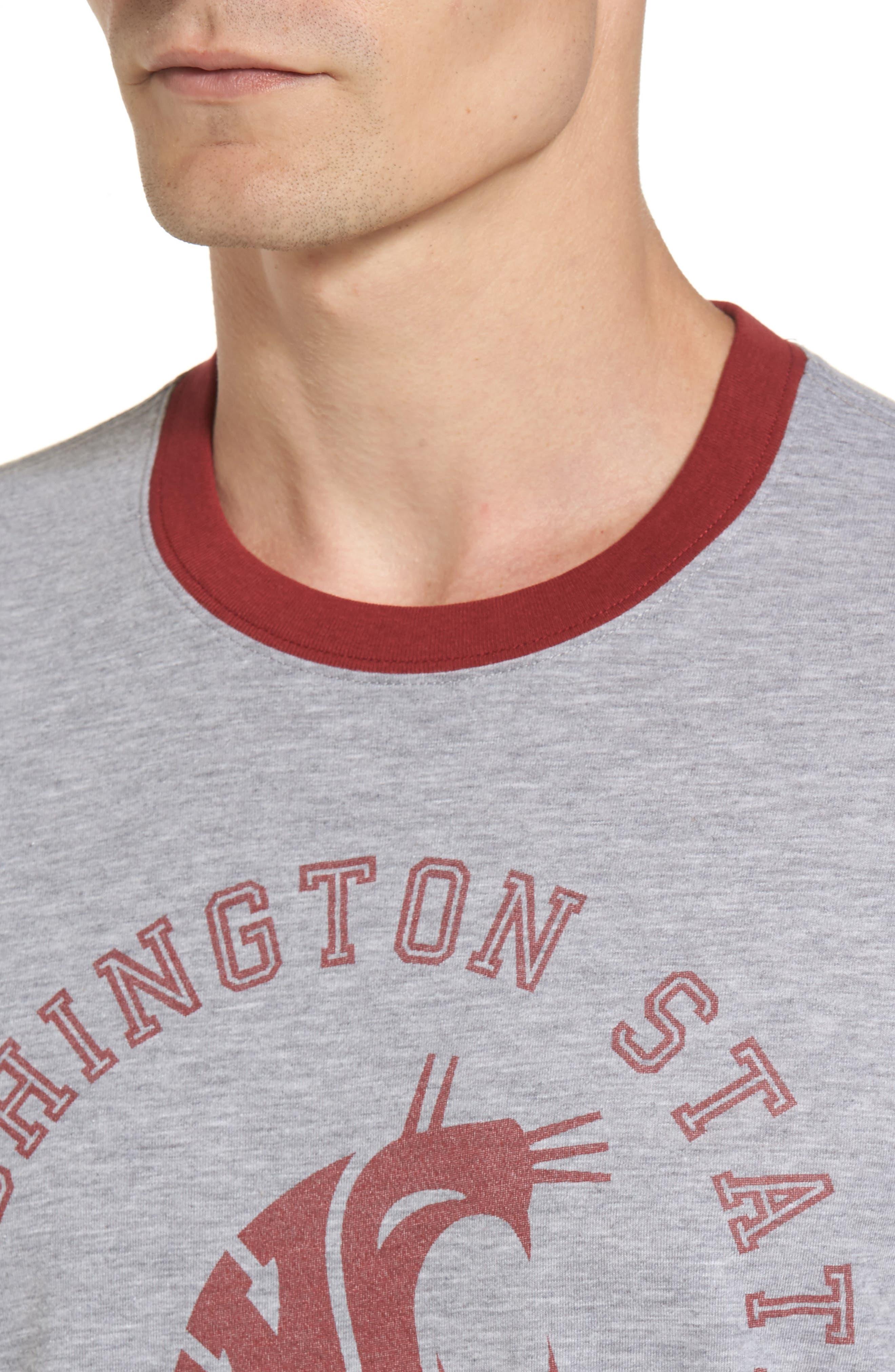 Alternate Image 4  - '47 Washington State University Cougars Ringer T-Shirt