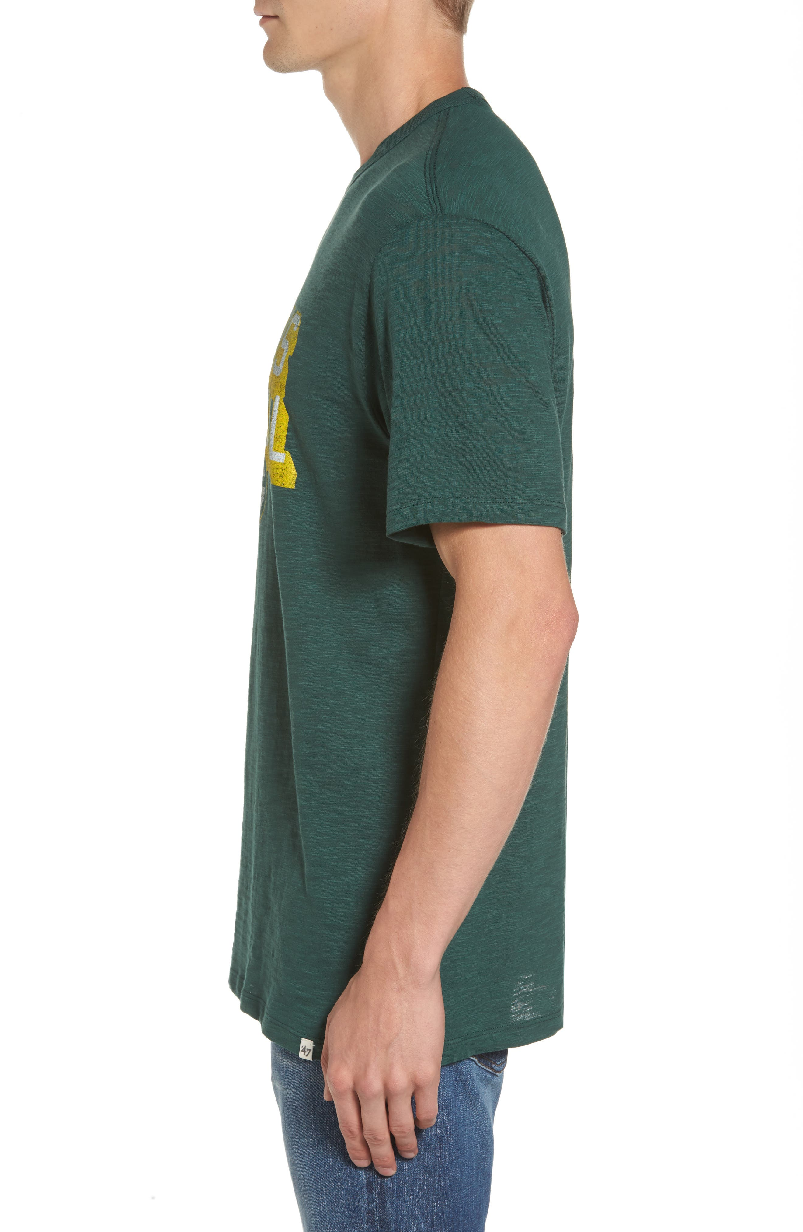 Green Bay Packers T-Shirt,                             Alternate thumbnail 3, color,                             Dark Green
