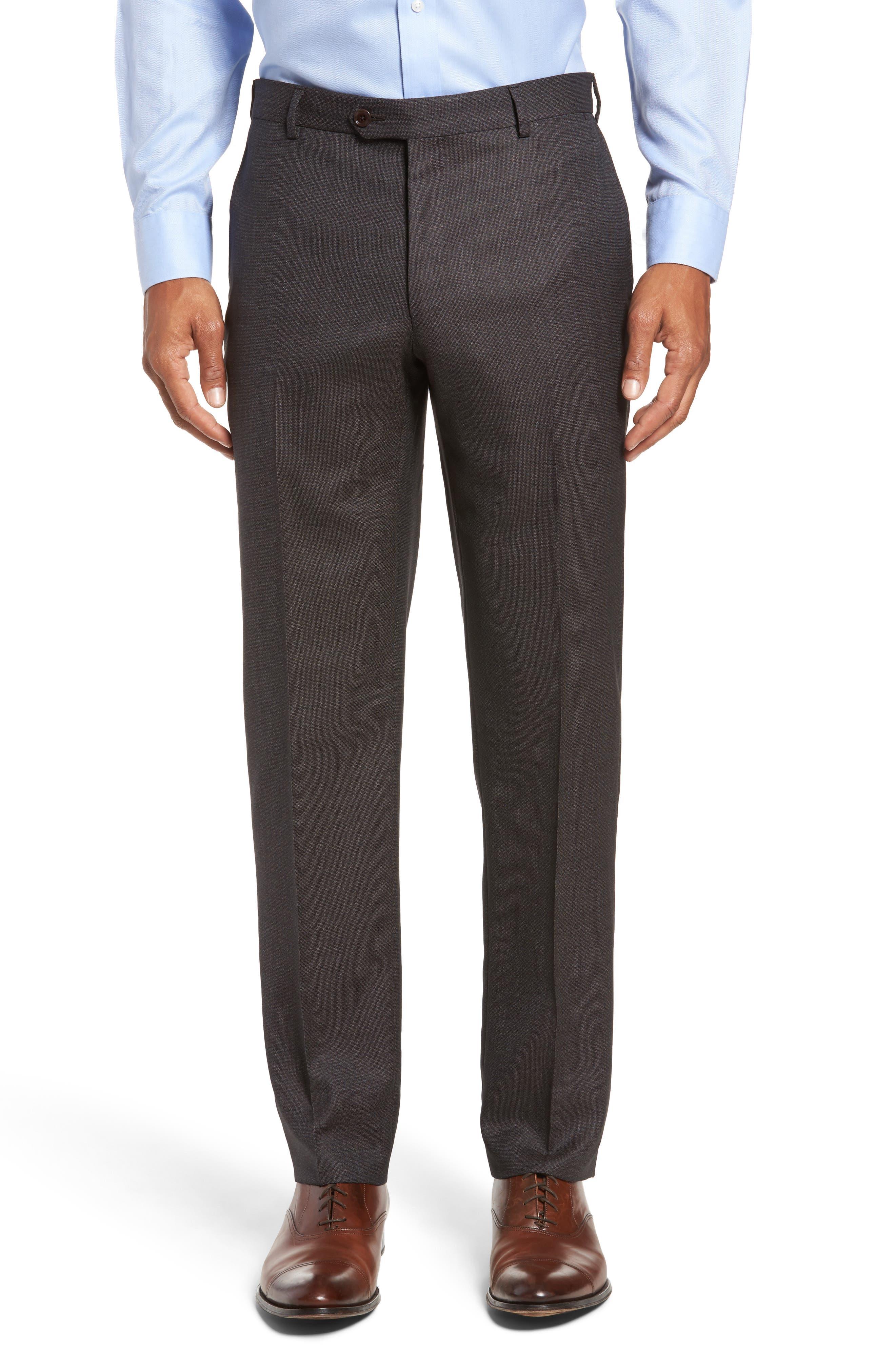 Alternate Image 6  - Pal Zileri Classic Fit Micro Weave Wool Suit