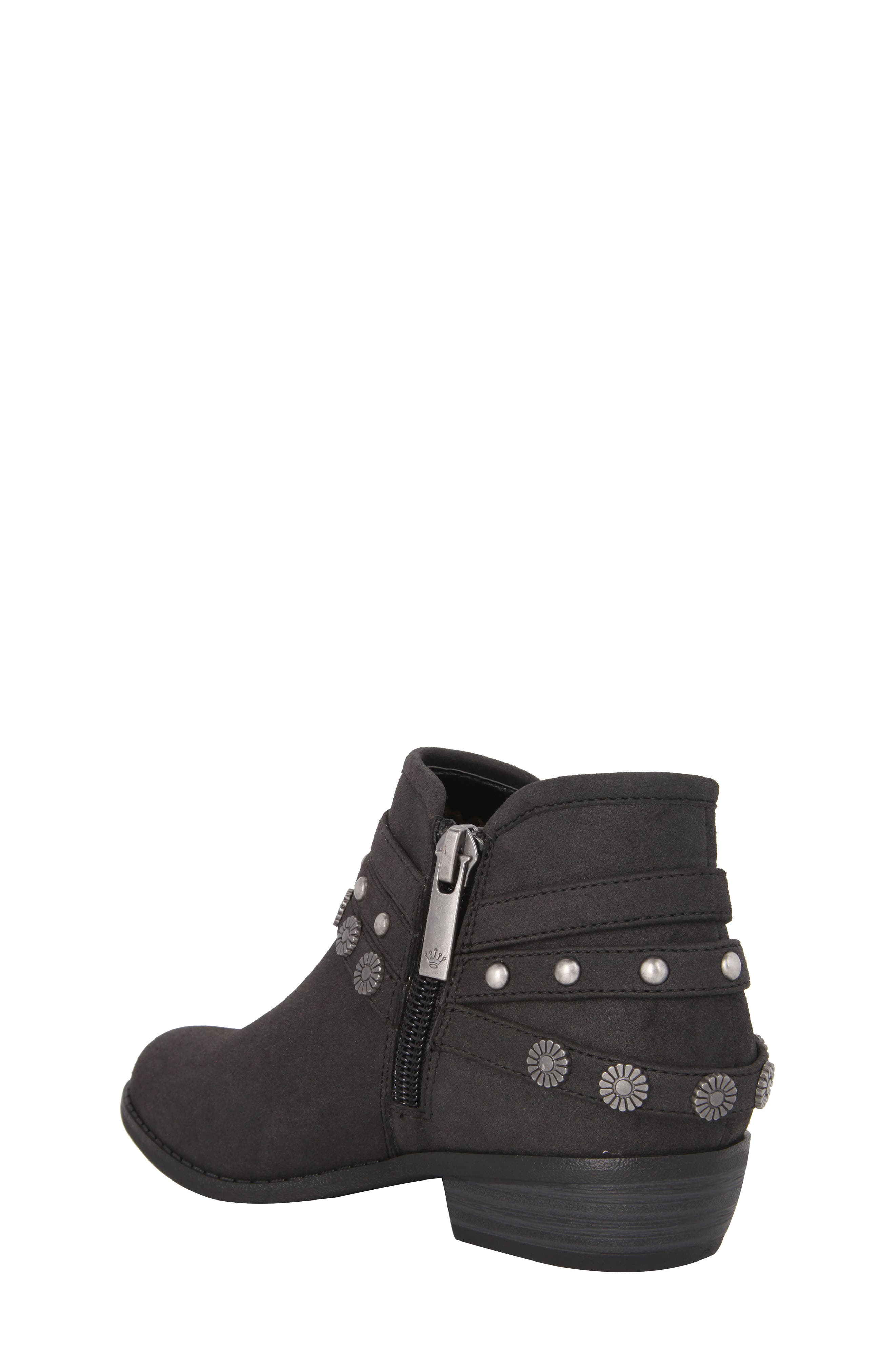 Alternate Image 2  - Nina Zoe Strappy Low Bootie (Toddler, Little Kid & Big Kid)