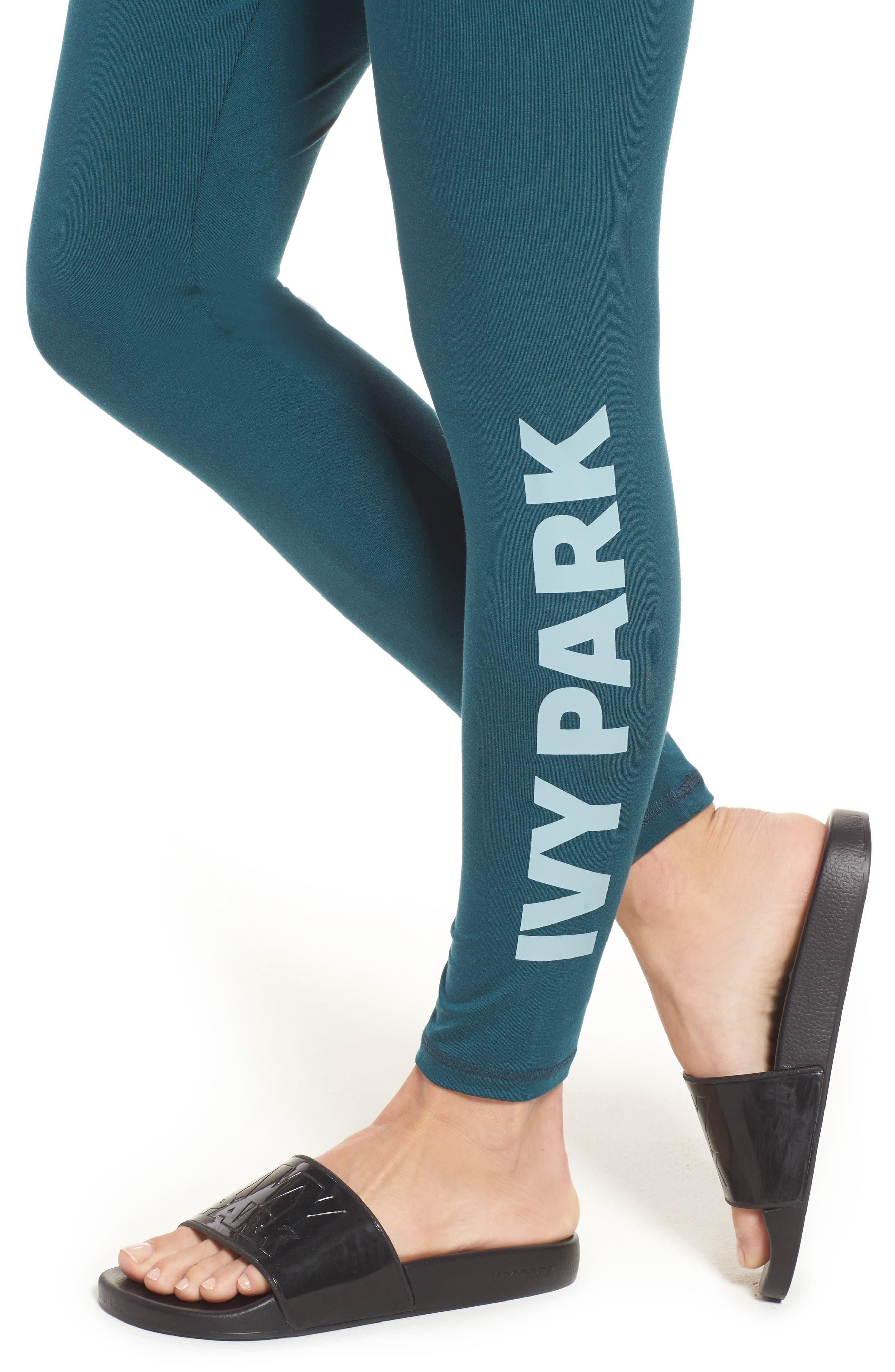 Alternate Image 3  - IVY PARK® Logo Ankle Leggings