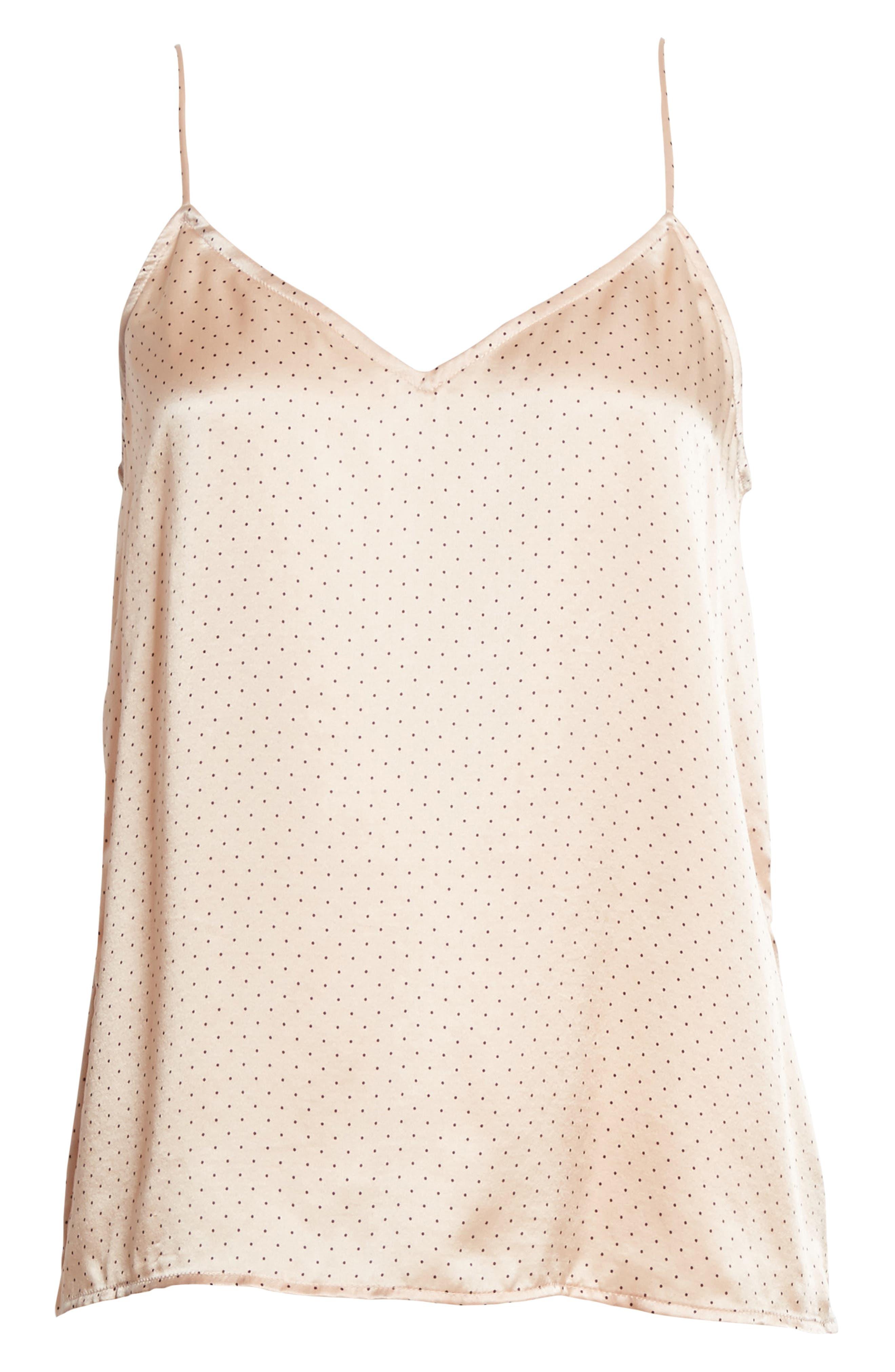 Alternate Image 6  - Equipment Layla Heart Print Silk Camisole