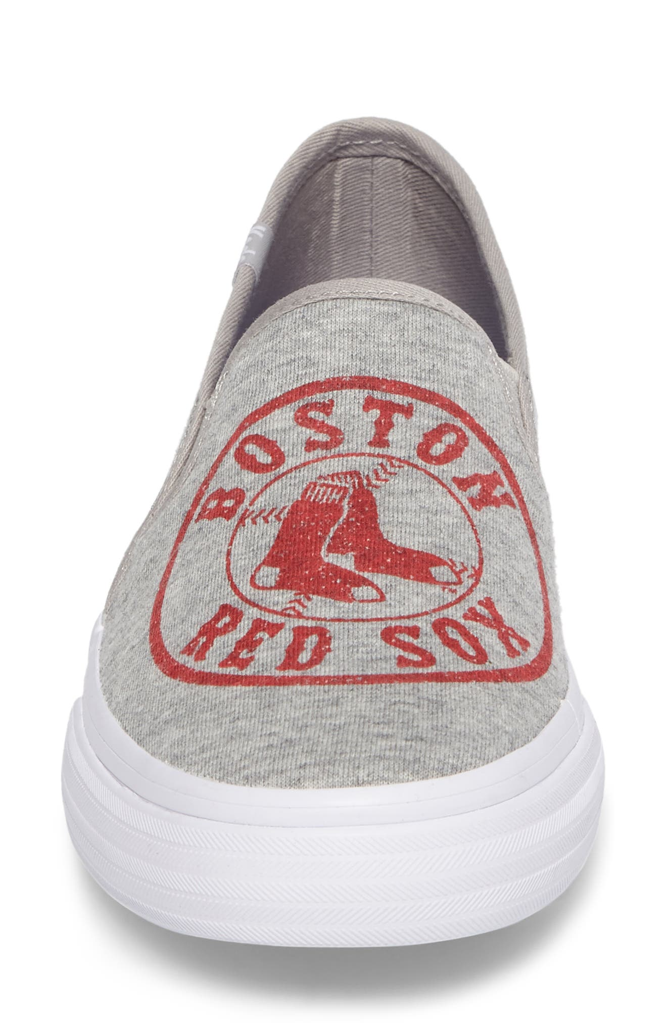 Alternate Image 4  - Keds® Double Decker Baseball Team Jersey Slip-On Sneaker (Women)