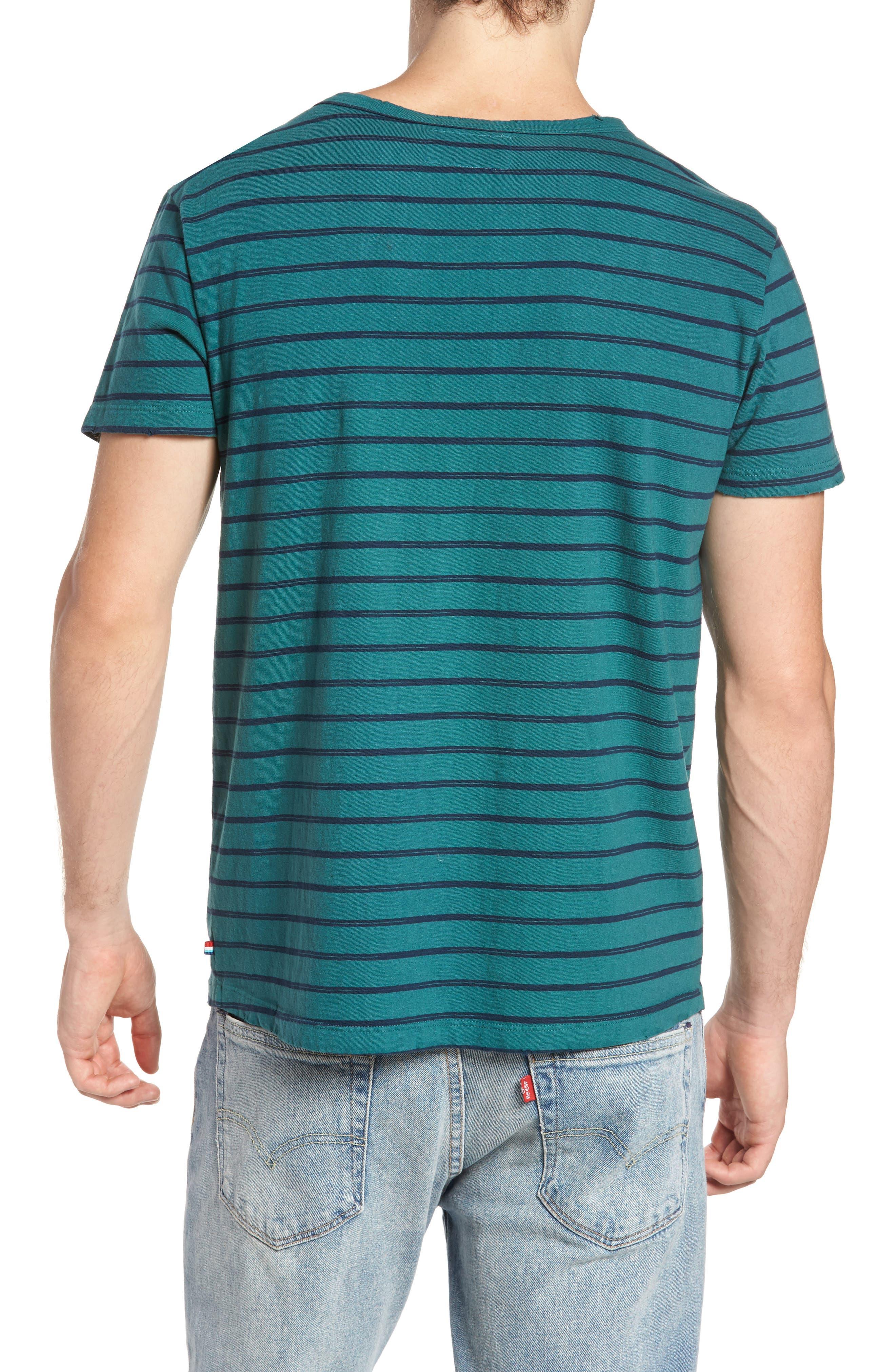 Alternate Image 2  - Sol Angeles Vintage Stripe Pocket T-Shirt