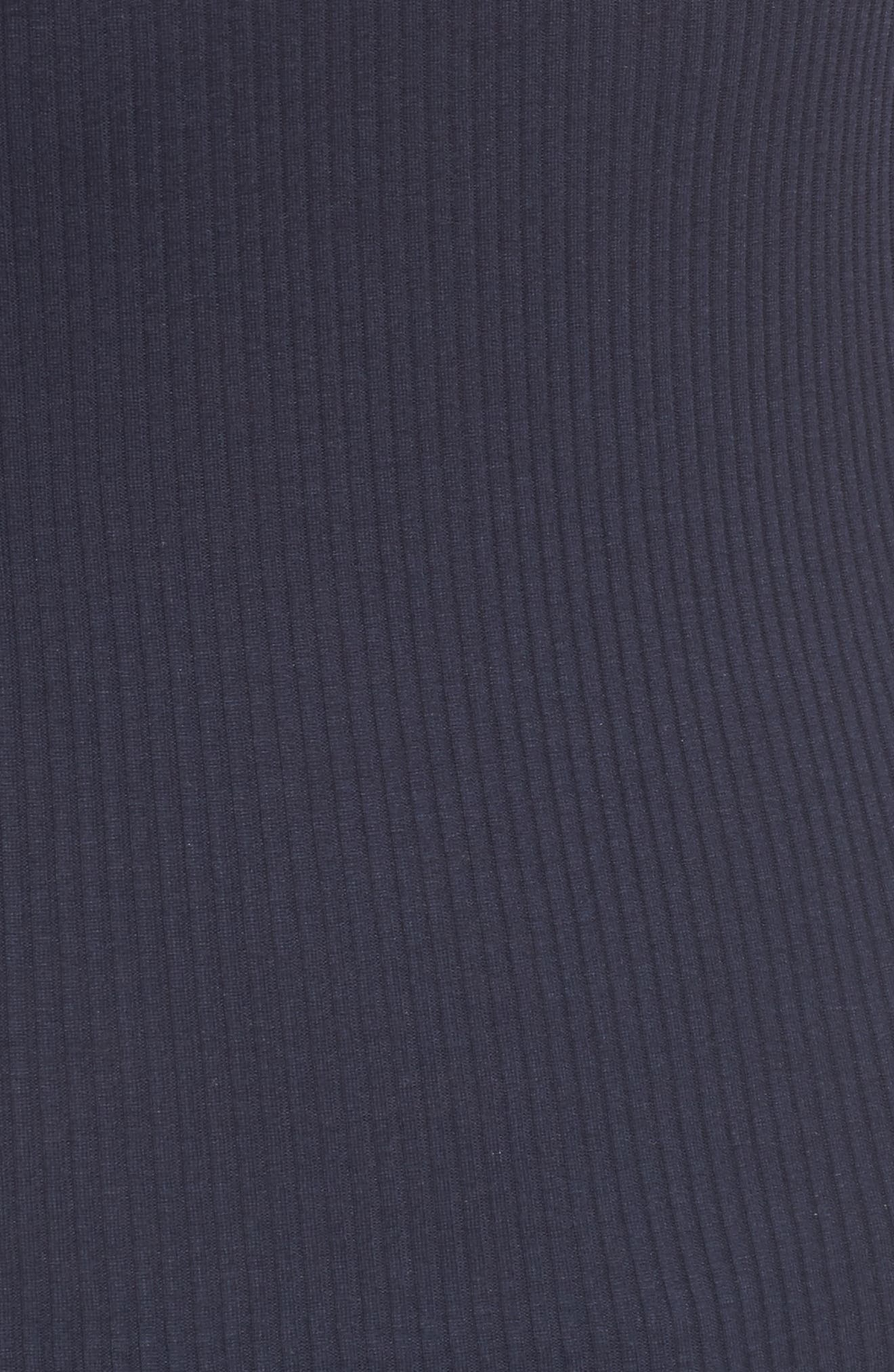 Alternate Image 5  - Rosemunde Lace Trim Rib Silk Blend Tank
