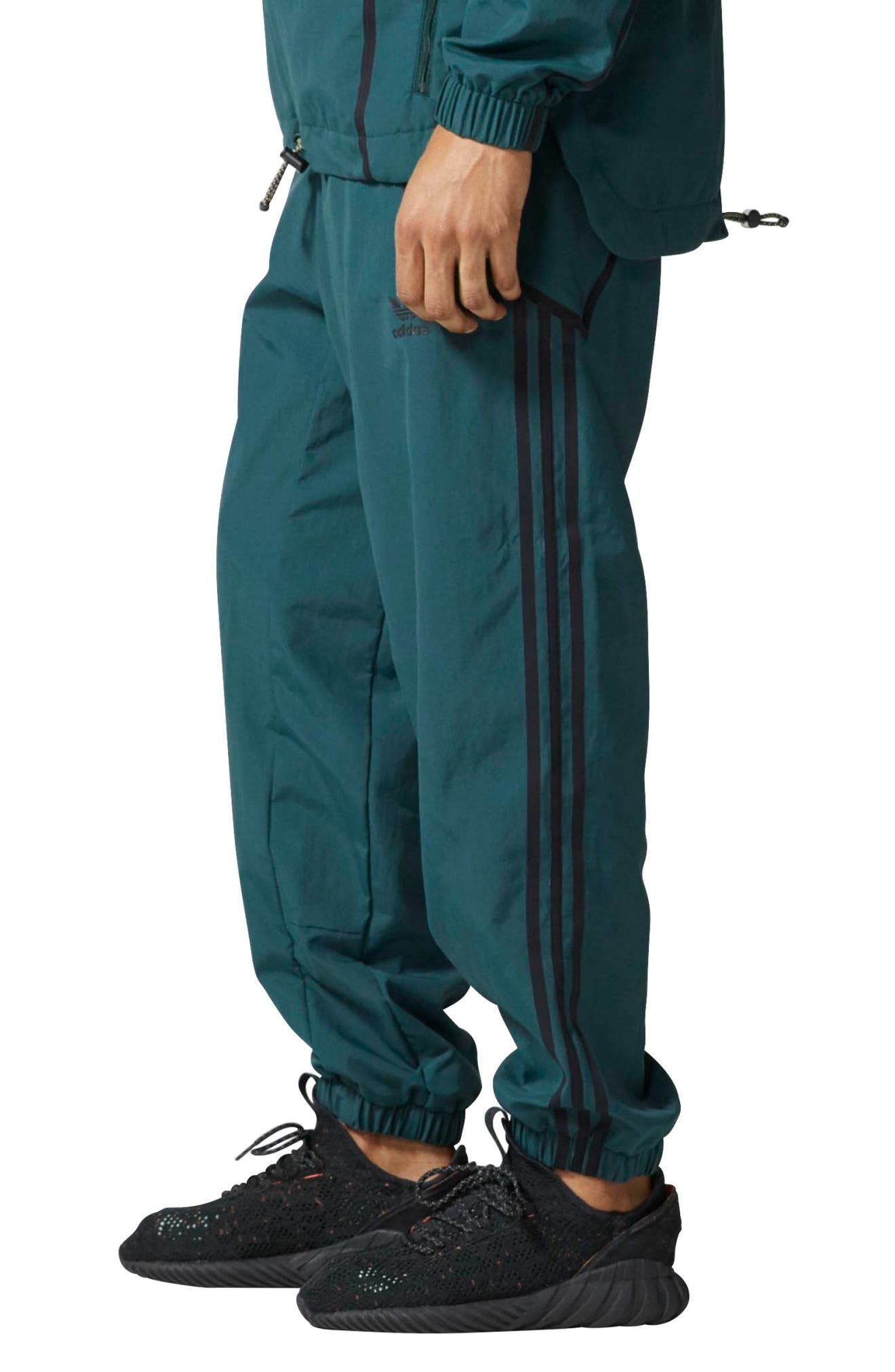 Alternate Image 3  - adidas Originals Taped Wind Pants